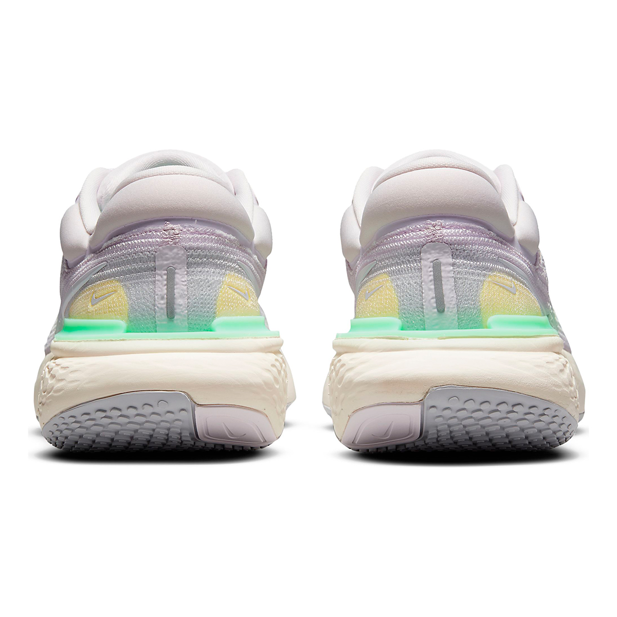 Women's Nike Zoomx Invincible Run FlyKnit Running Shoe - Color: Light Violet/White/Infinite Lilac - Size: 5 - Width: Regular, Light Violet/White/Infinite Lilac, large, image 5