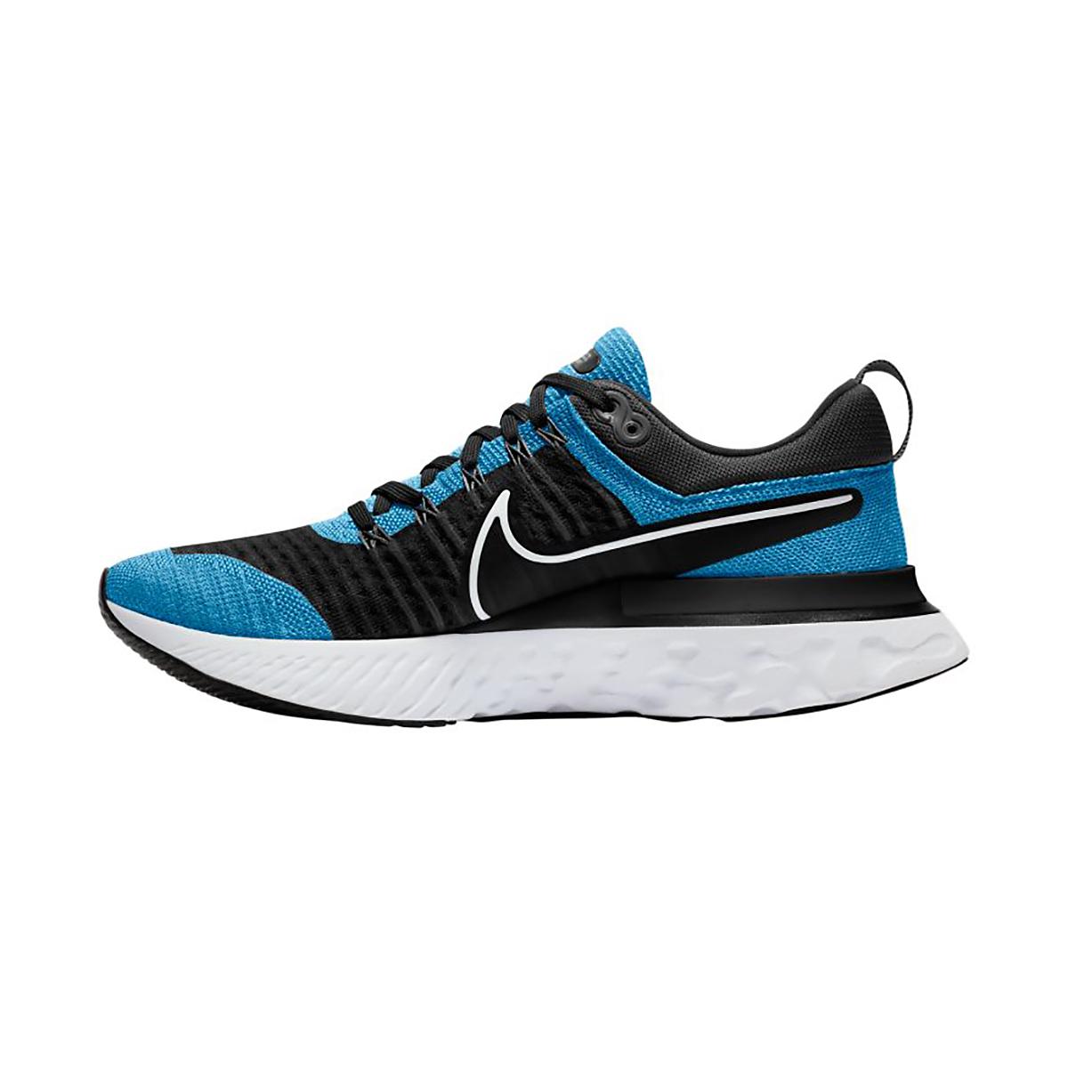 Men's Nike React Infinity Run Flyknit 2 Running Shoe - Color: Blue Orbit/White - Size: 8 - Width: Regular, Blue Orbit/White, large, image 2