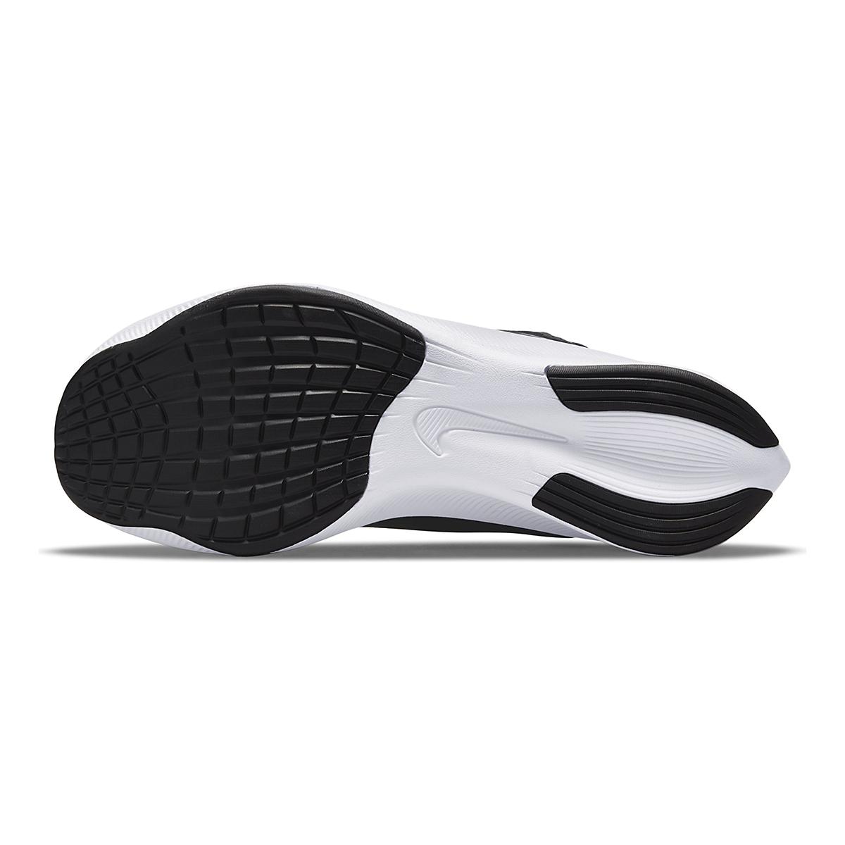 Men's Nike Zoom Fly 4 Running Shoe - Color: Black/White/Anthracite/Racer Blue - Size: 6 - Width: Regular, Black/White/Anthracite/Racer Blue, large, image 3