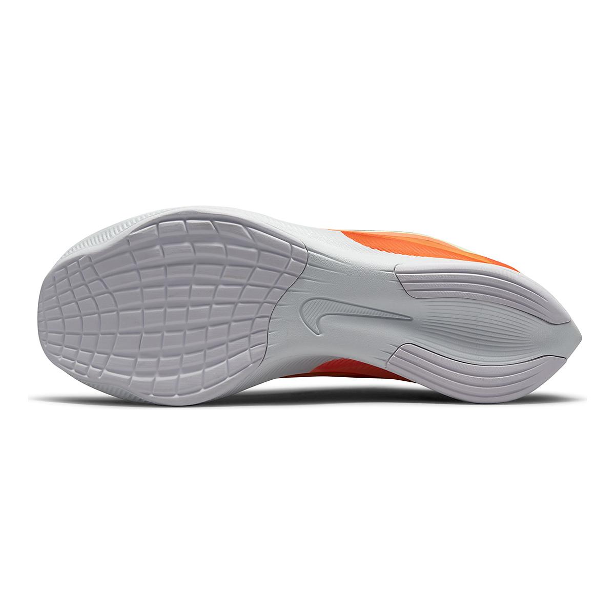 Men's Nike Zoom Fly 4 Running Shoe - Color: Barely Volt/Black/Hyper Orange - Size: 6 - Width: Regular, Barely Volt/Black/Hyper Orange, large, image 7