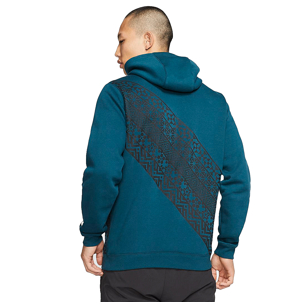 Men's Nike Club Pullover Hoodie  - Color: Midnight Turquoise - Size: XS, Midnight Turquoise, large, image 2