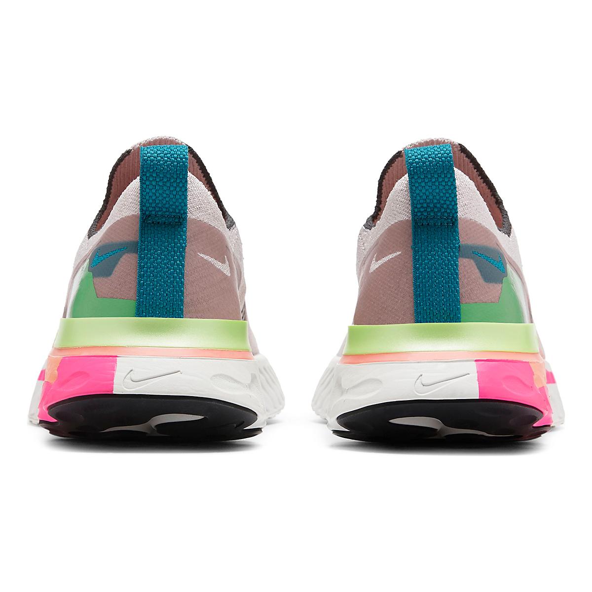 Women's Nike React Infinity Run Flyknit Running Shoe - Color: Violet Ash/Smoke Grey/Pink Blast - Size: 5 - Width: Regular, Violet Ash/Smoke Grey/Pink Blast, large, image 4