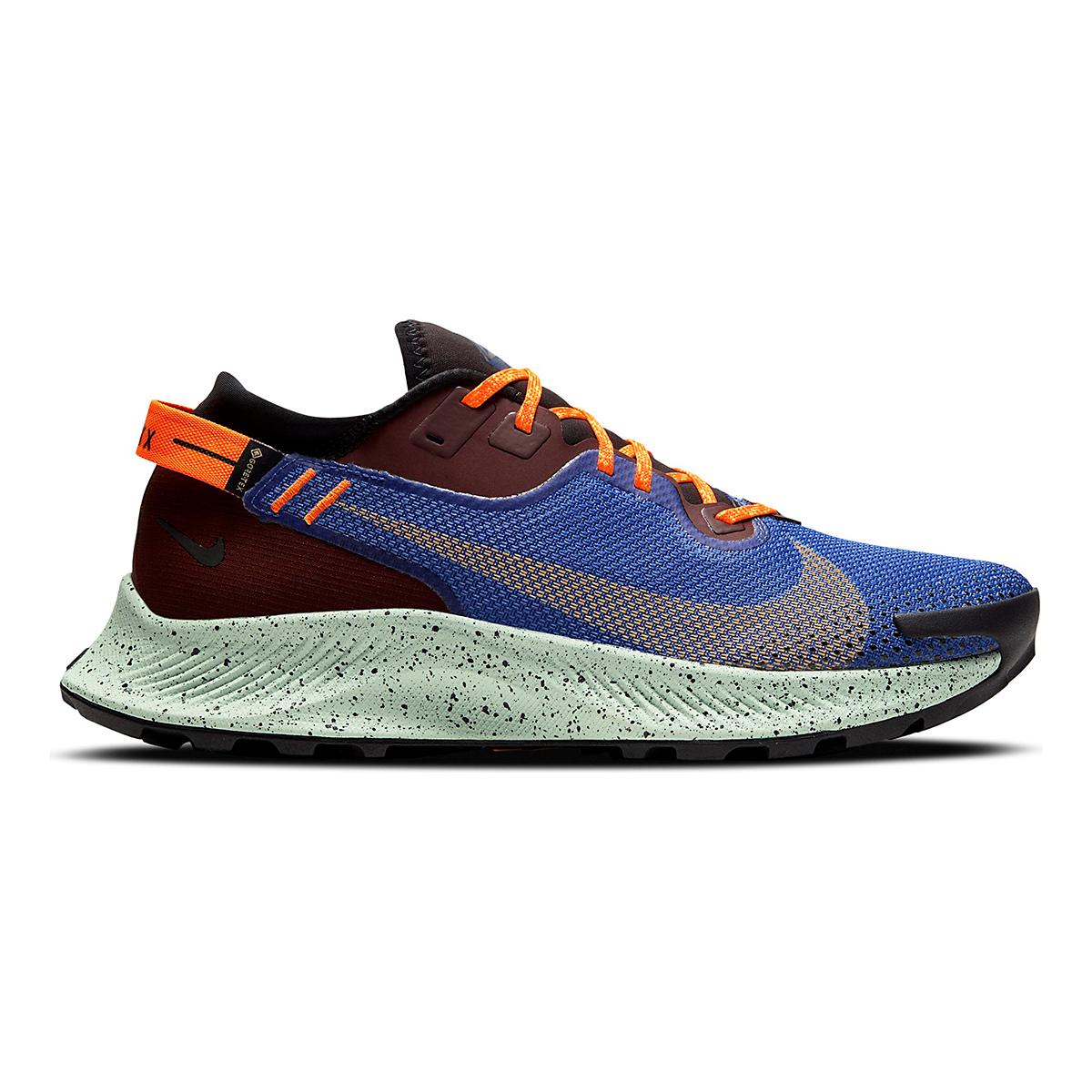 Men's Nike Pegasus Trail 2 Gore-Tex Running Shoe - Color: Mystic Dates/Laser Orange/ Astronomy Blue - Size: 6 - Width: Regular, Mystic Dates/Laser Orange/ Astronomy Blue, large, image 1