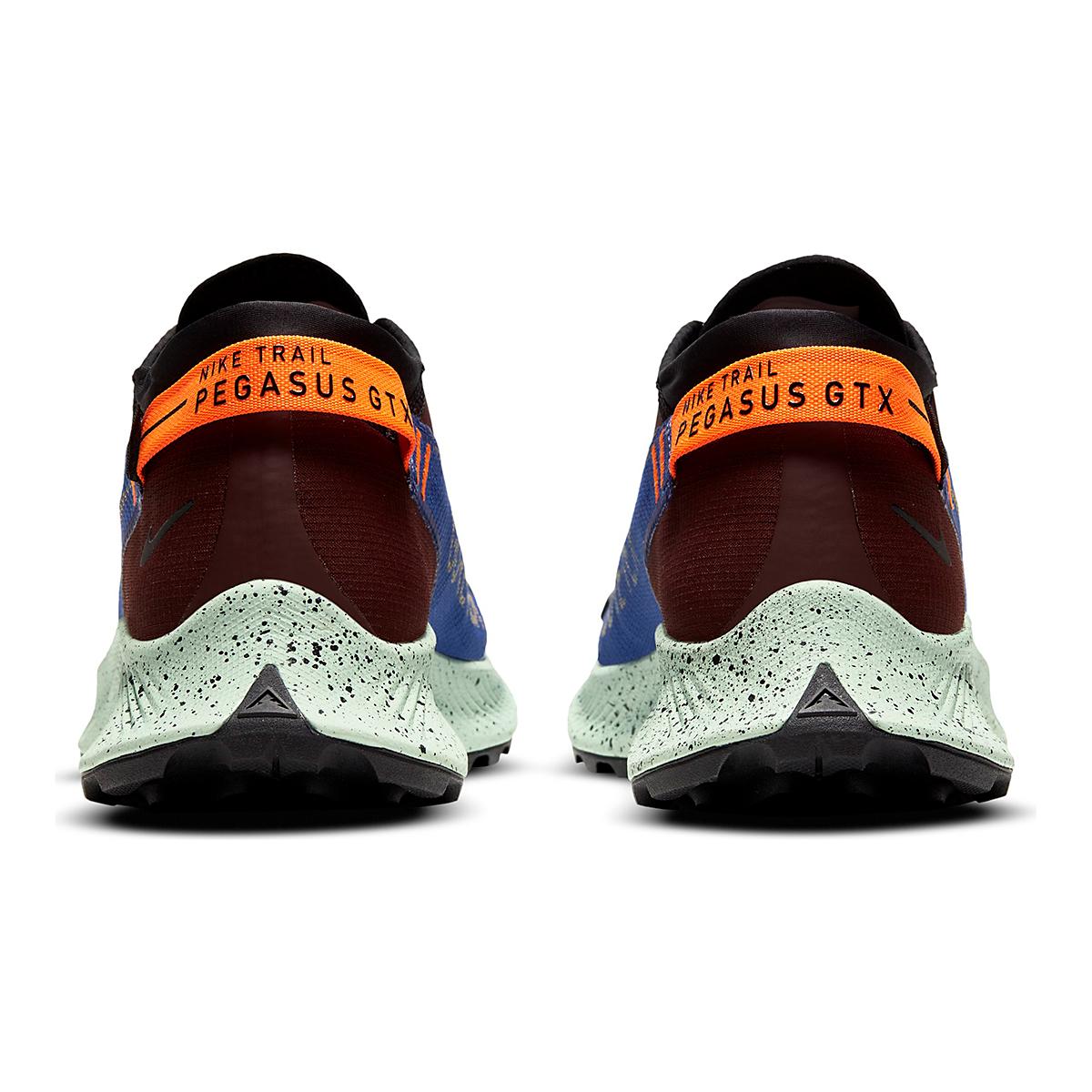 Men's Nike Pegasus Trail 2 Gore-Tex Running Shoe - Color: Mystic Dates/Laser Orange/ Astronomy Blue - Size: 6 - Width: Regular, Mystic Dates/Laser Orange/ Astronomy Blue, large, image 4