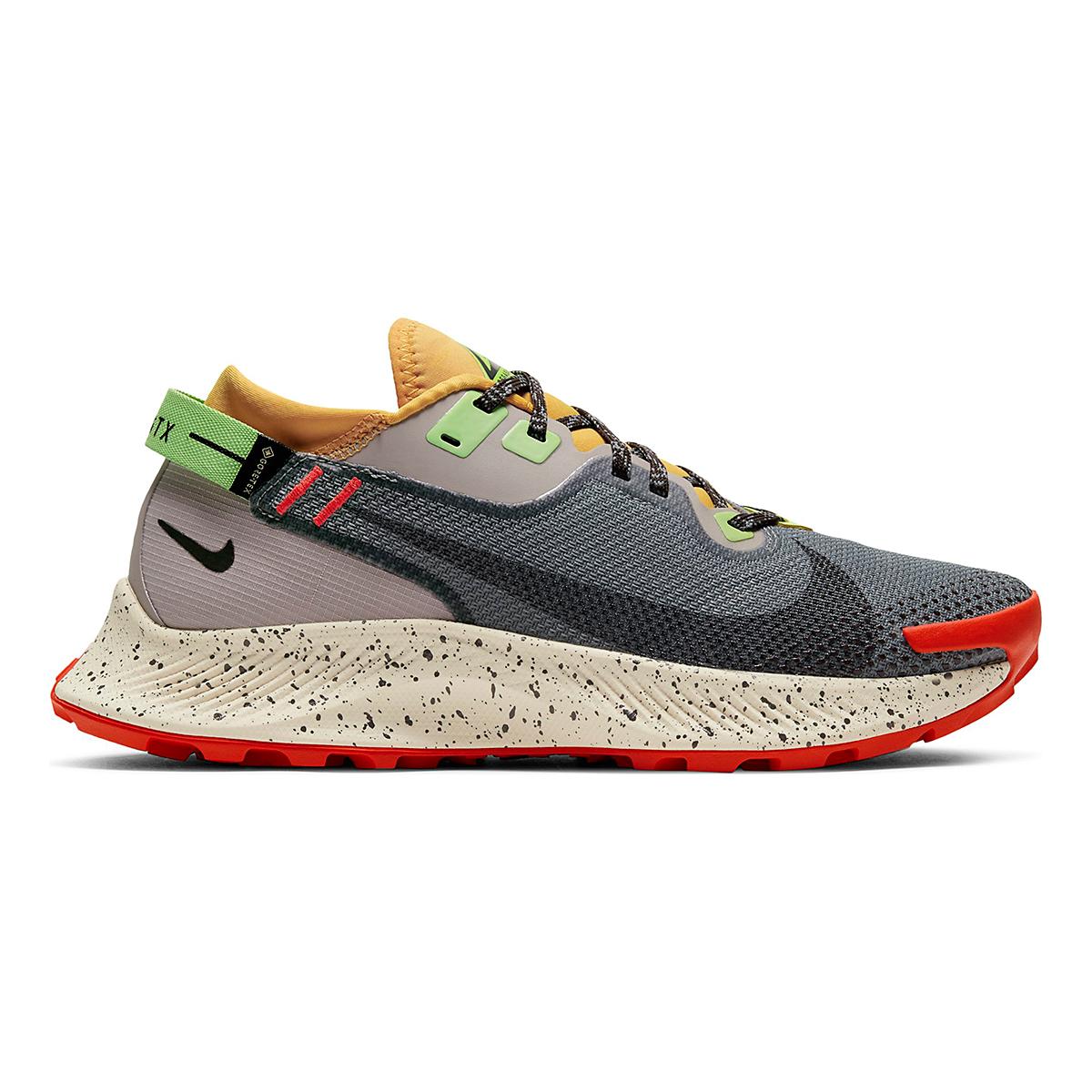 Women's Nike Pegasus Trail 2 Gore-Tex Running Shoe - Color: Smoke Grey/Black-Bucktan-College Grey - Size: 5 - Width: Regular, Smoke Grey/Black-Bucktan-College Grey, large, image 1
