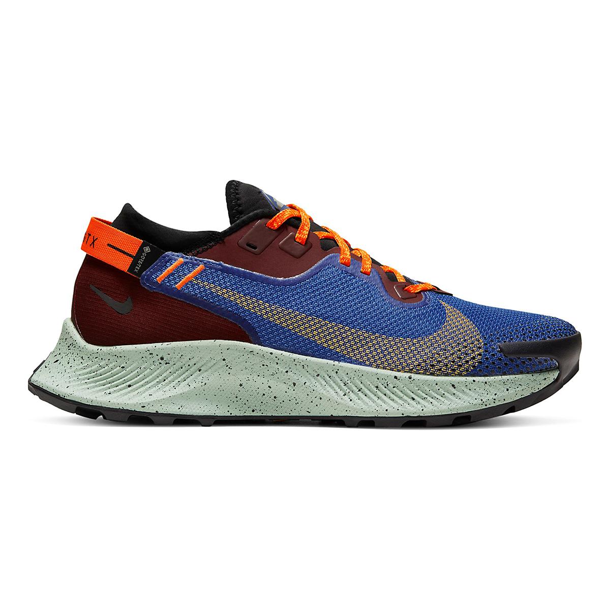 Women's Nike Pegasus Trail 2 Gore-Tex Trail Running Shoe - Color: Mystic Dates/Laser Orange/ Astronomy Blue - Size: 5 - Width: Regular, Mystic Dates/Laser Orange/ Astronomy Blue, large, image 1