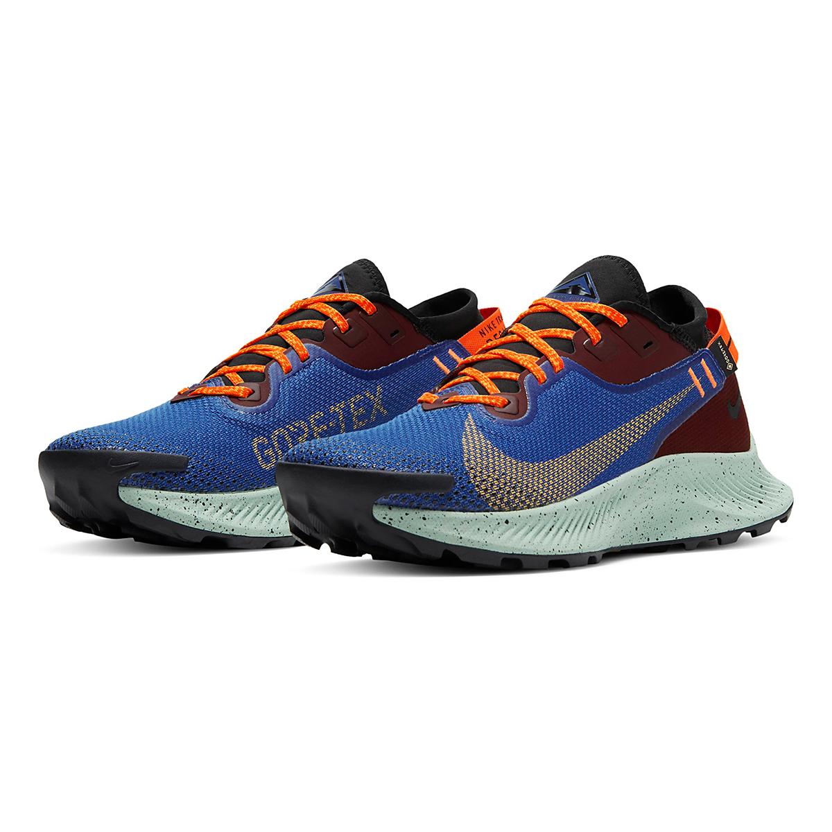 Women's Nike Pegasus Trail 2 Gore-Tex Trail Running Shoe - Color: Mystic Dates/Laser Orange/ Astronomy Blue - Size: 5 - Width: Regular, Mystic Dates/Laser Orange/ Astronomy Blue, large, image 3