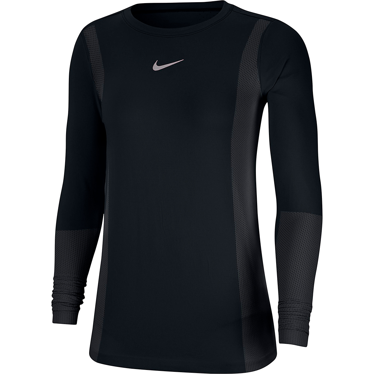 Women's Nike Infinite Running Top Long Sleeve - Color: Black - Size: XS, Black, large, image 3