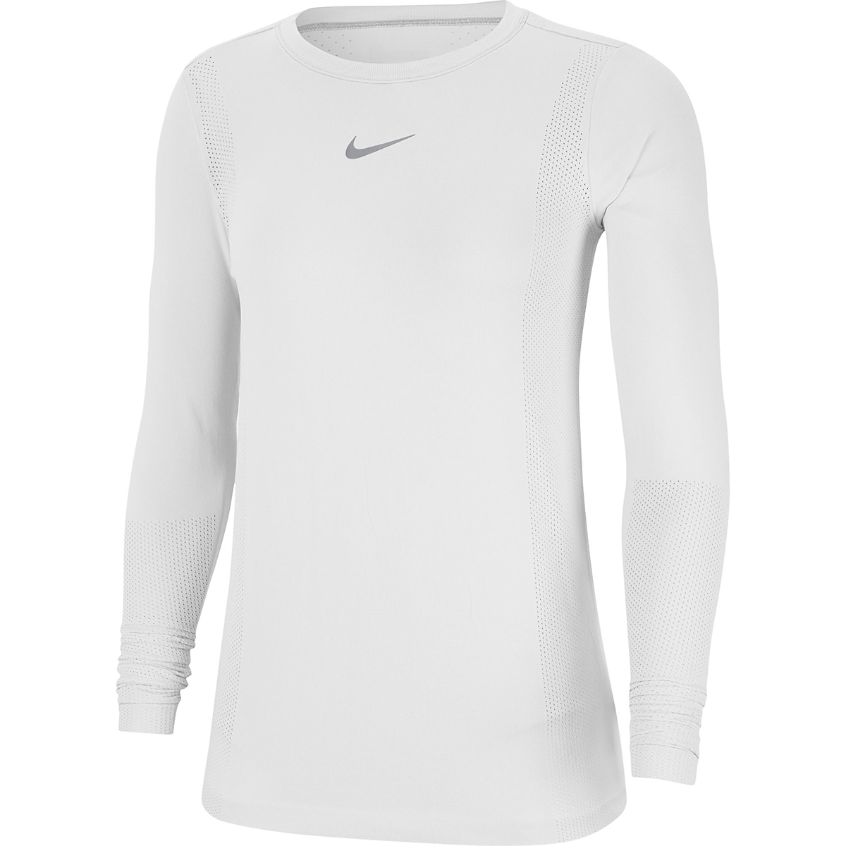 Women's Nike Infinite Running Top Long Sleeve - Color: White - Size: XS, White, large, image 3