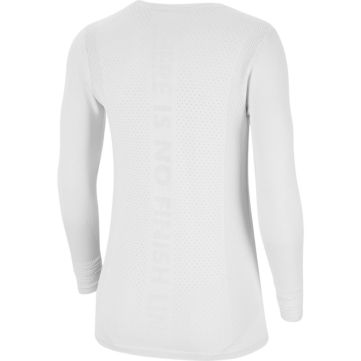 Women's Nike Infinite Running Top Long Sleeve - Color: White - Size: XS, White, large, image 4