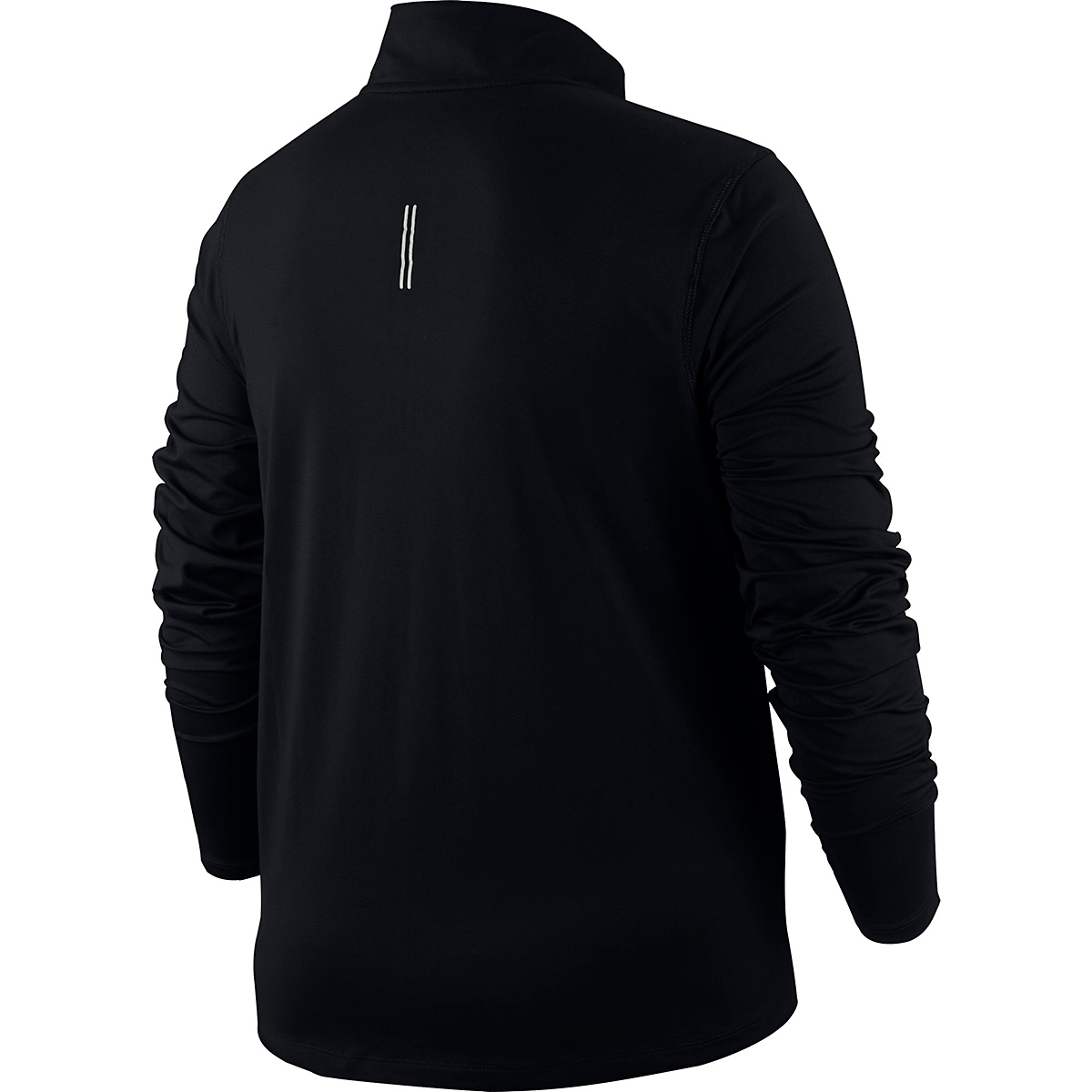 Women's Nike Element 1/2-Zip Running Top - Color: Black - Size: S, Black, large, image 2