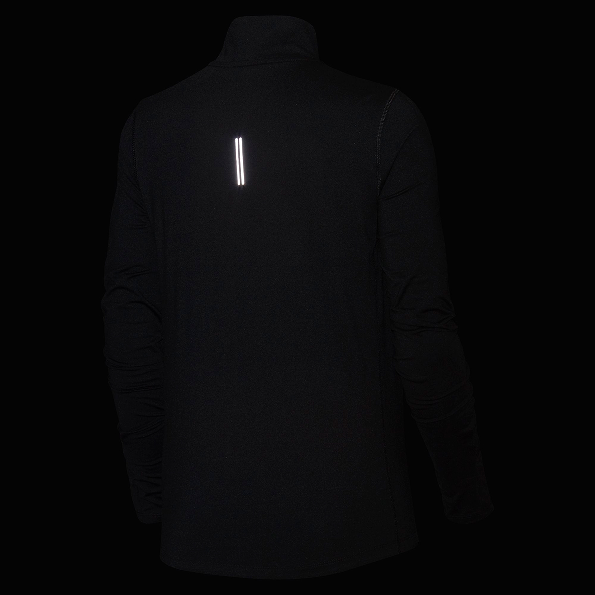 Women's Nike Element 1/2-Zip Running Top - Color: Black - Size: S, Black, large, image 3