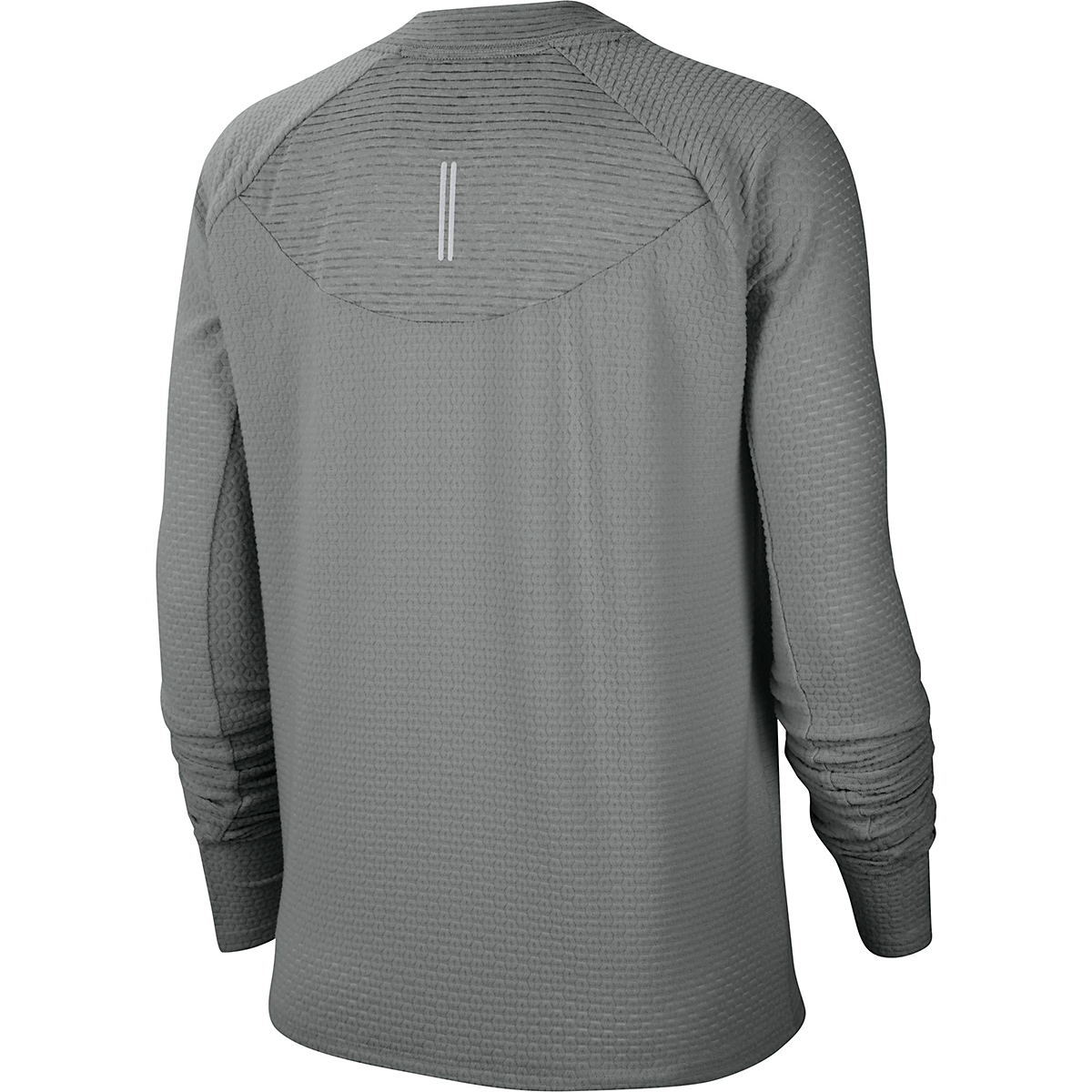 Women's Nike Sphere Crew Long Sleeve Shirt - Color: Particle Grey/Reflective Silver - Size: XS, Particle Grey/Reflective Silver, large, image 2