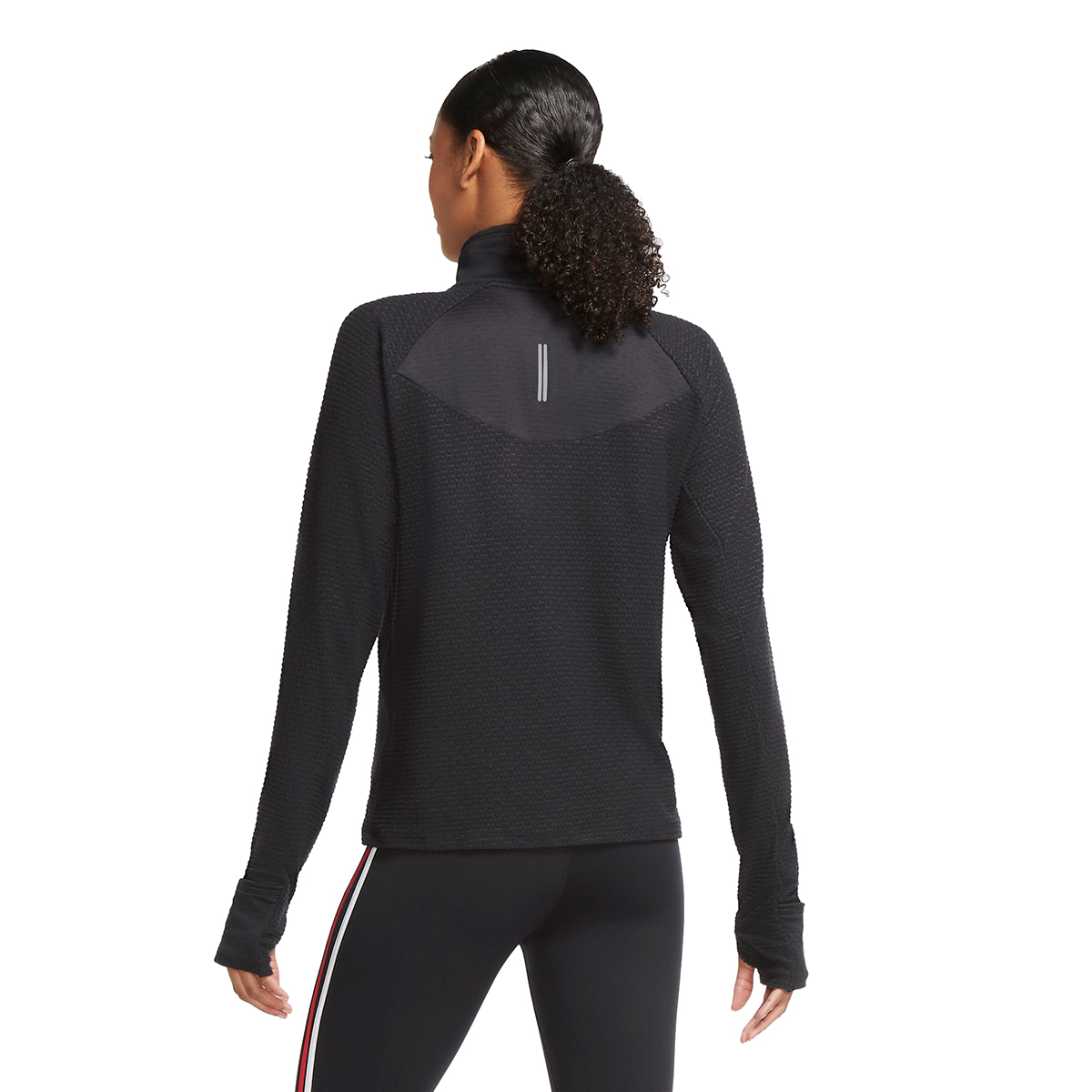Women's Nike Sphere Half Zip Long Sleeve Shirt, , large, image 2