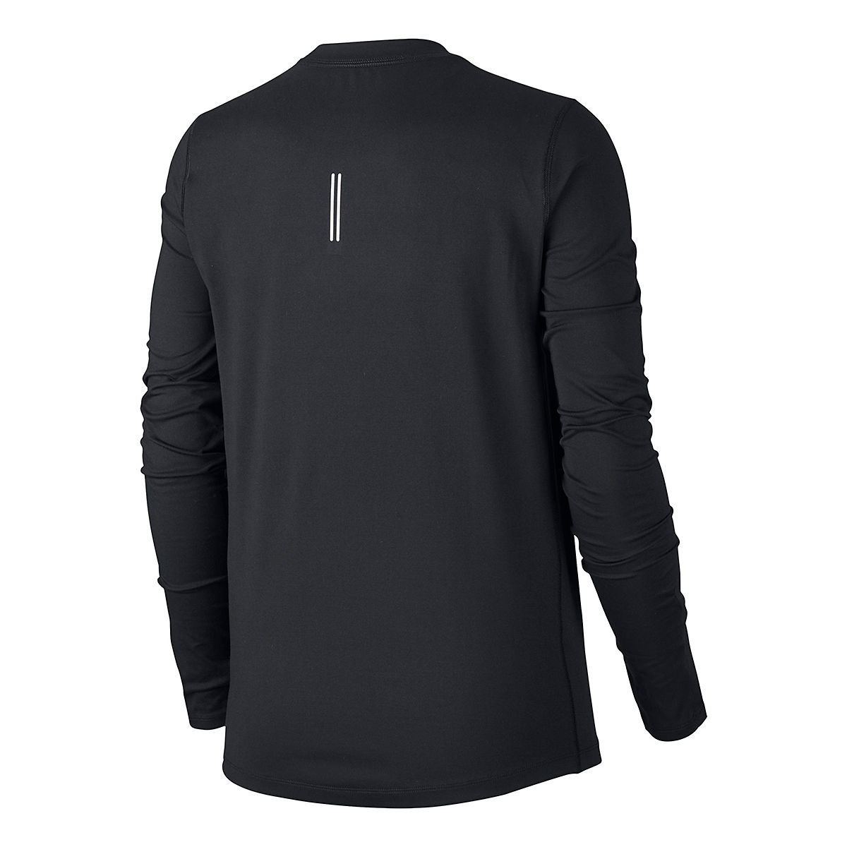 Women's Nike Element Crew Long Sleeve - Color: Black/Reflective Silver - Size: XS, Black/Reflective Silver, large, image 3