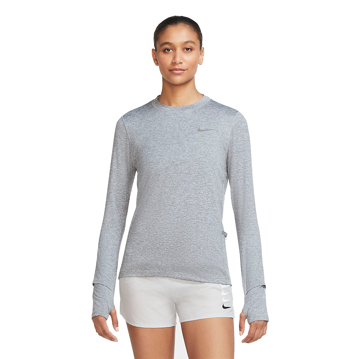 Women's Nike Element Crew Long Sleeve Shirt, , large, image 1