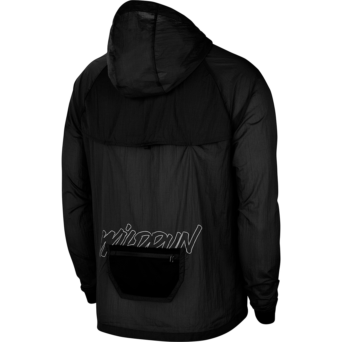 Men's Nike Windrunner Wild Run Running Jacket - Color: Black/Dark Smoke Grey/Claystone Red - Size: S, Black/Dark Smoke Grey/Claystone Red, large, image 4