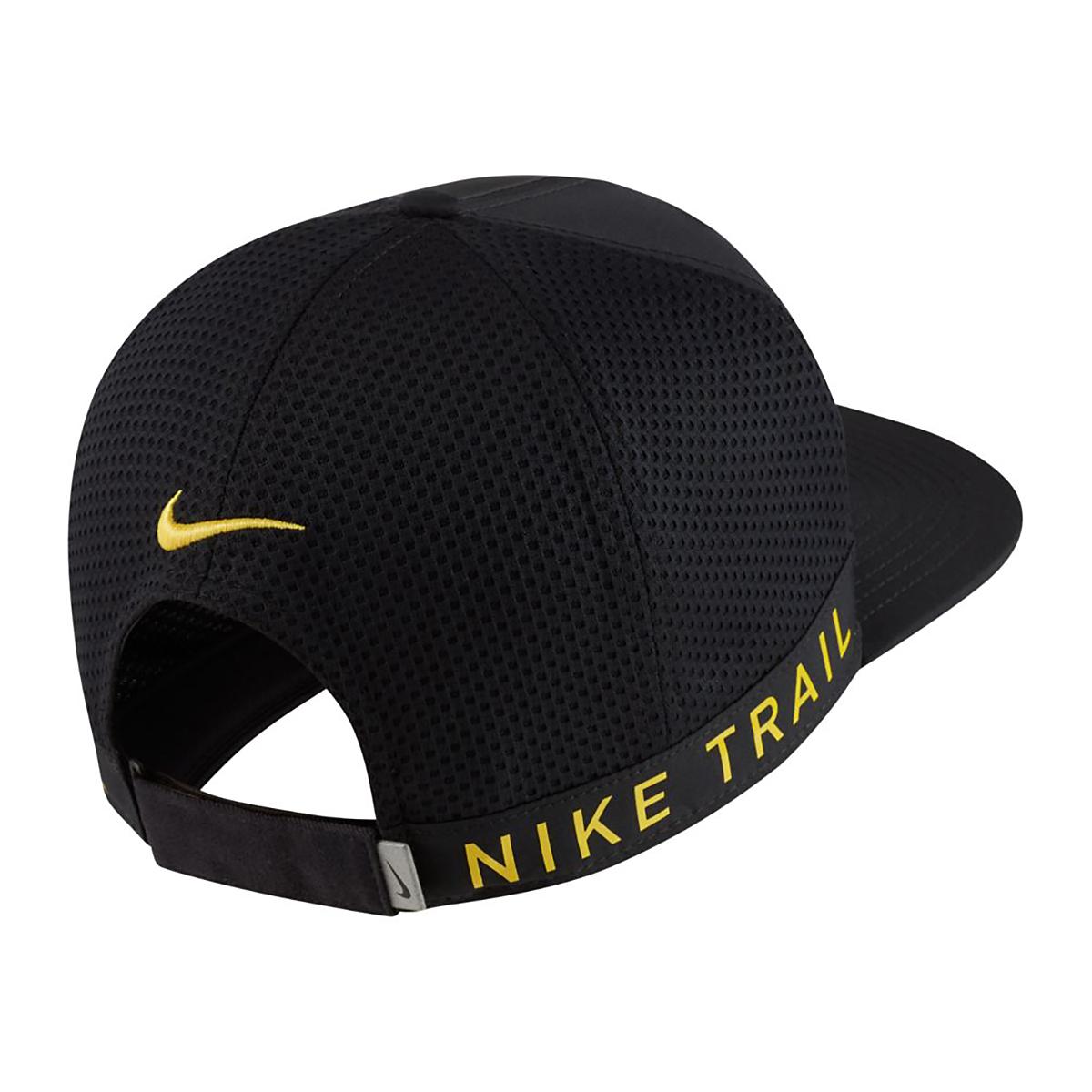 Nike Dri-FIT Pro Trail Cap - Color: Black, Black, large, image 2