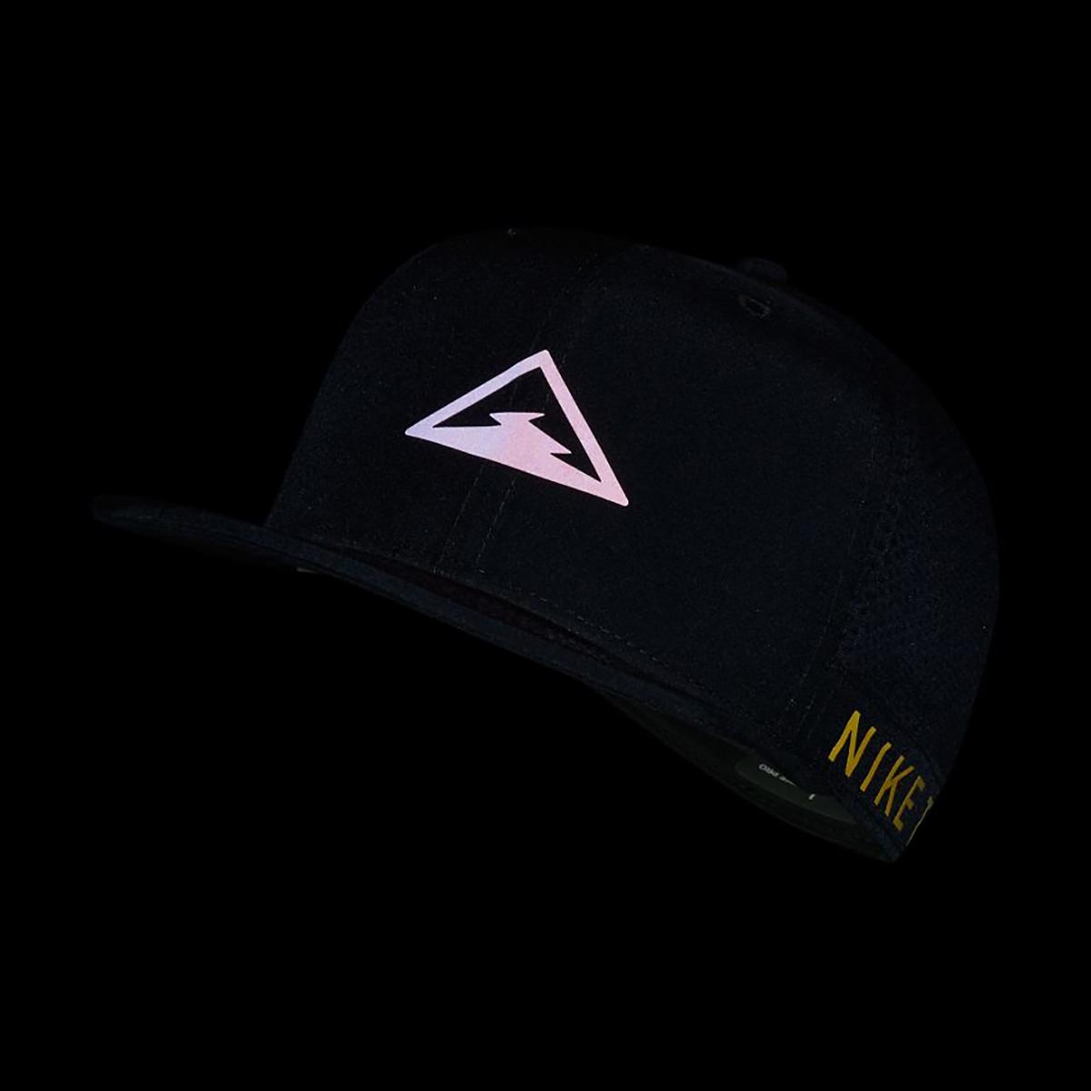 Nike Dri-FIT Pro Trail Cap - Color: Black, Black, large, image 3