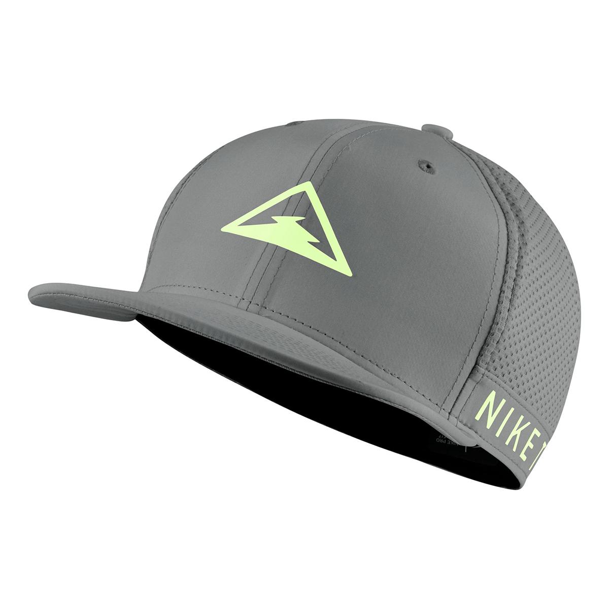 Nike Dri-FIT Pro Trail Cap - Color: Grey - Size: OS, Grey, large, image 1