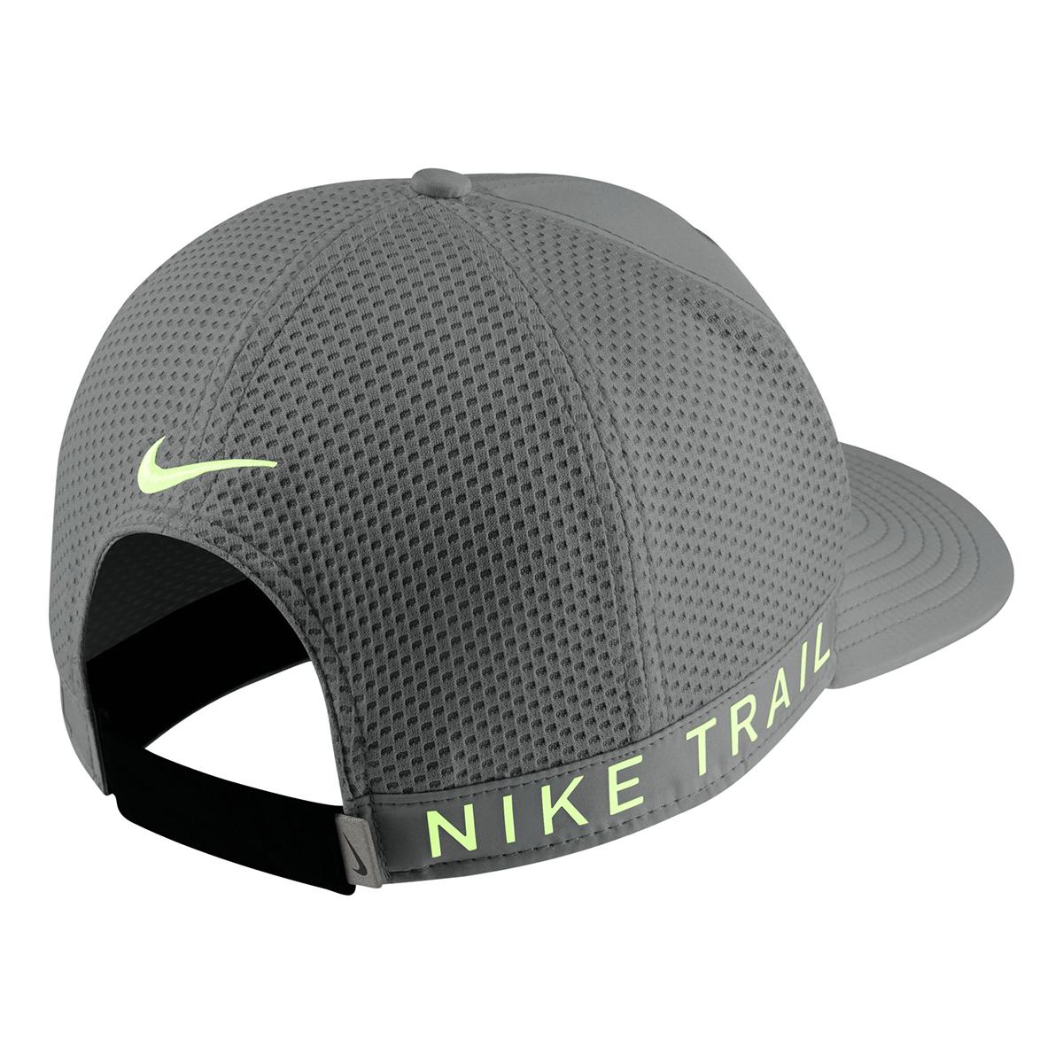 Nike Dri-FIT Pro Trail Cap - Color: Grey - Size: OS, Grey, large, image 2