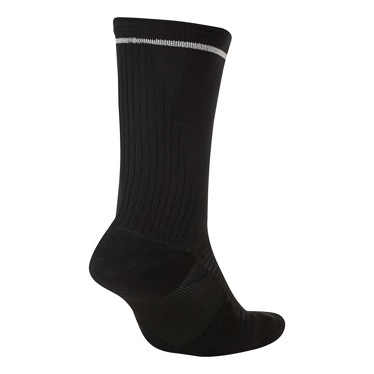 Nike Spark Cushion Crew Sock - Color: Black - Size: 4/5.5, Black, large, image 2