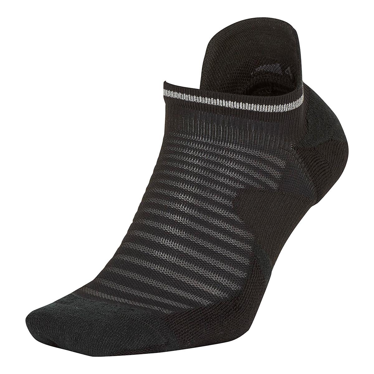Nike Spark Cushion No Show Sock - Color: Black - Size: 4/5.5, Black, large, image 1