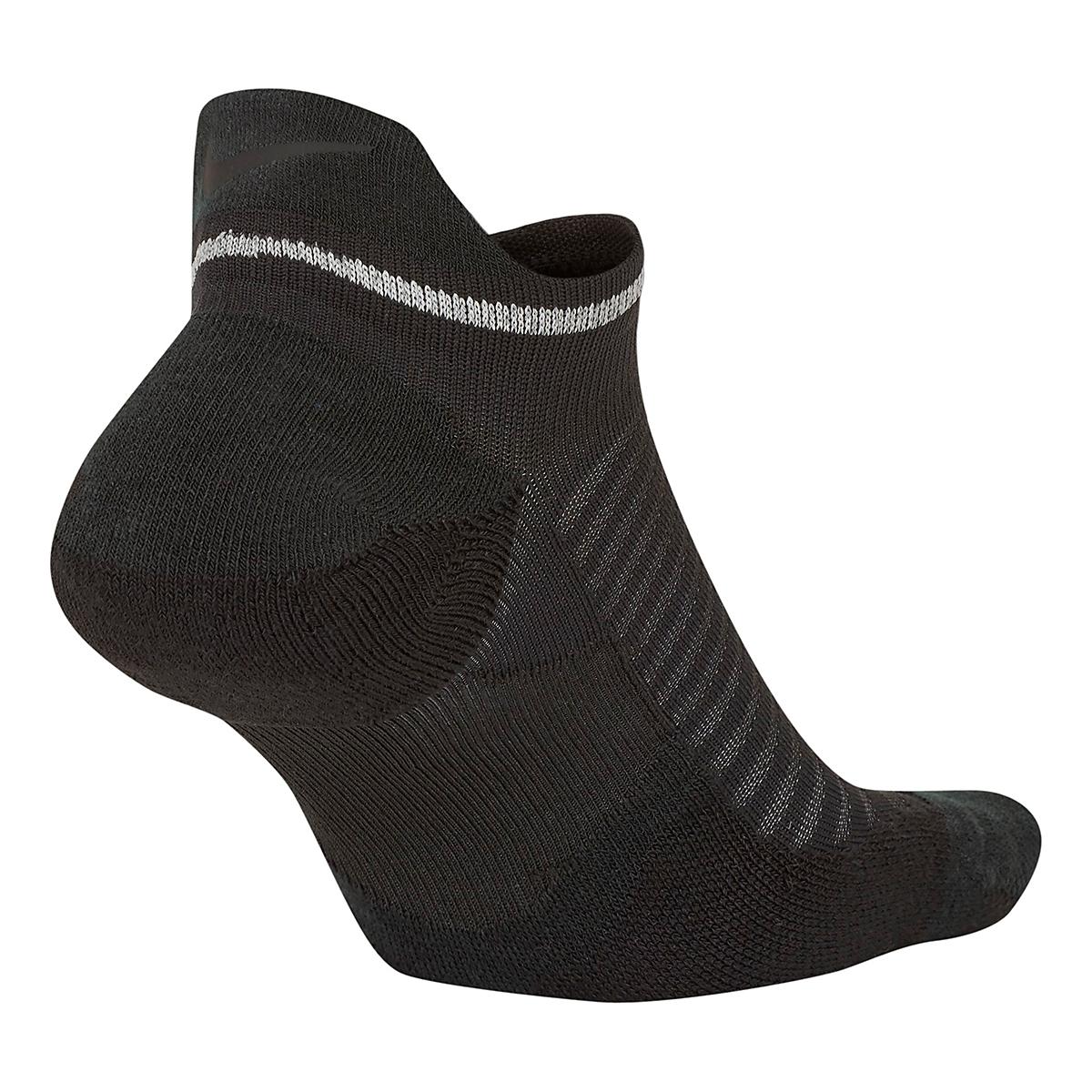 Nike Spark Cushion No Show Sock - Color: Black - Size: 4/5.5, Black, large, image 2