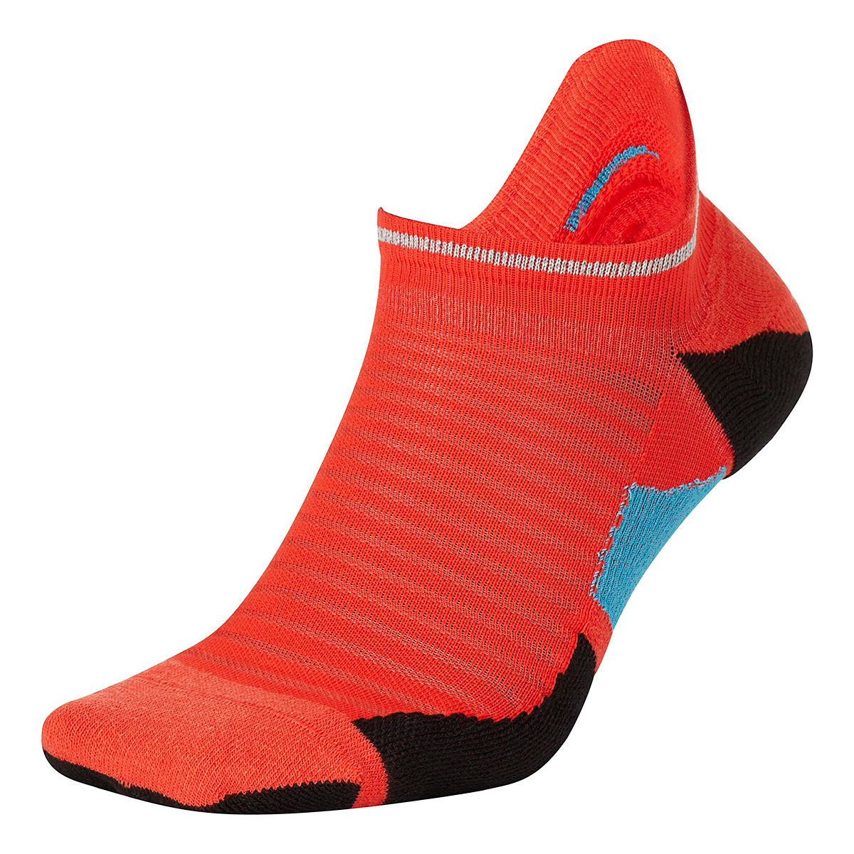 Nike Spark Cushion No Show Sock - Color: Chile Red/Reflective - Size: 4/5.5, Chile Red/Reflective, large, image 1