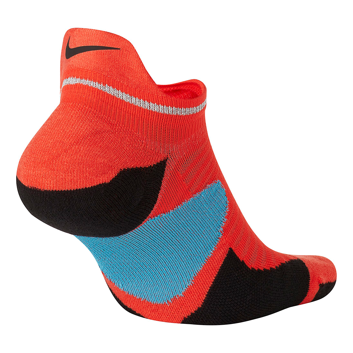 Nike Spark Cushion No Show Sock - Color: Chile Red/Reflective - Size: 4/5.5, Chile Red/Reflective, large, image 2
