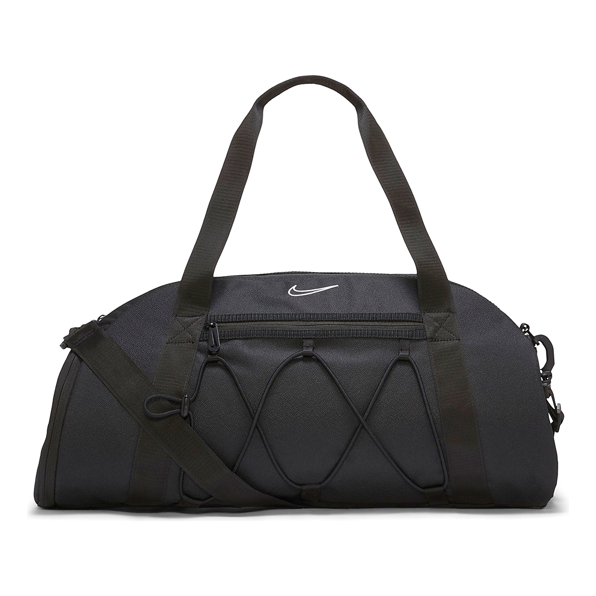 Women's Nike One Club Duffel Bag - Color: Black, Black, large, image 1
