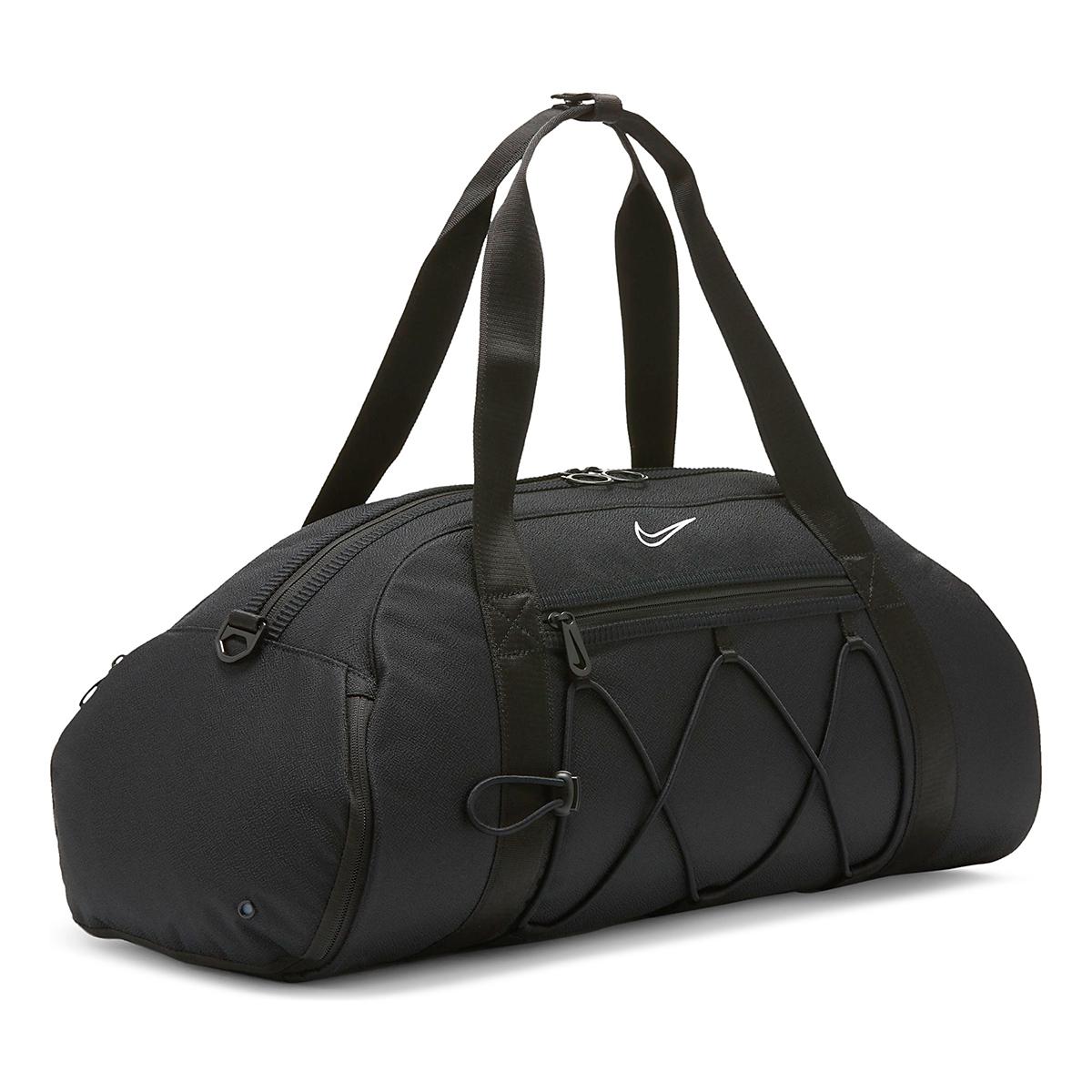 Women's Nike One Club Duffel Bag - Color: Black, Black, large, image 3