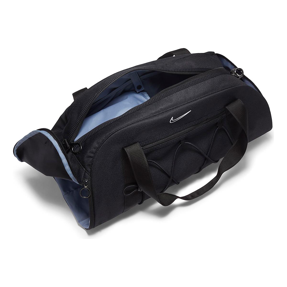 Women's Nike One Club Duffel Bag - Color: Black, Black, large, image 4