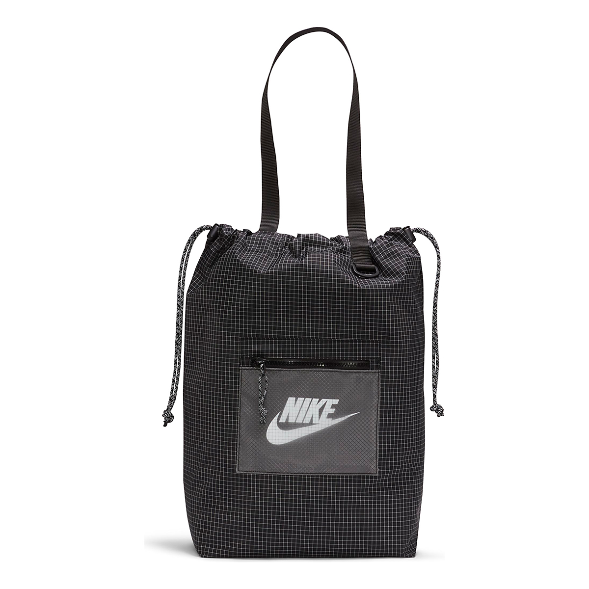 Nike Heritage Tote Bag - Color: Black/White, Black/White, large, image 1