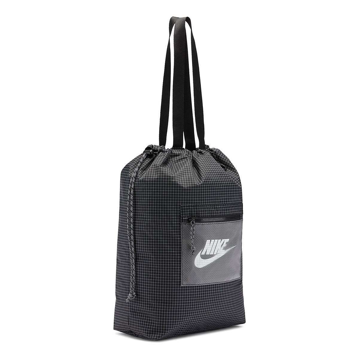 Nike Heritage Tote Bag - Color: Black/White, Black/White, large, image 3