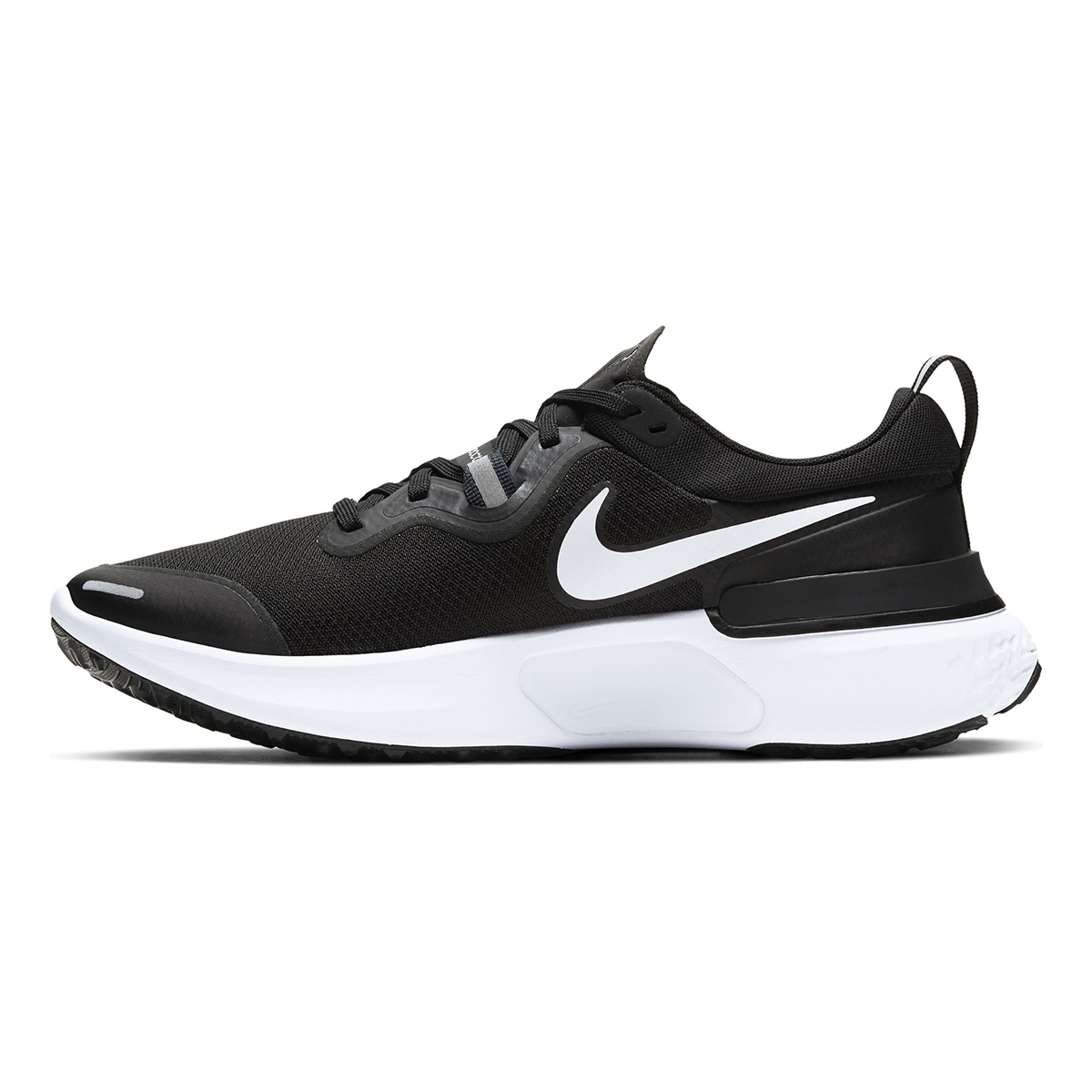Men's Nike React Miler Running Shoe - Color: Black/Dark Grey/Anthracite/White (Regular Width) - Size: 6, Black/Dark Grey/Anthracite/White, large, image 2