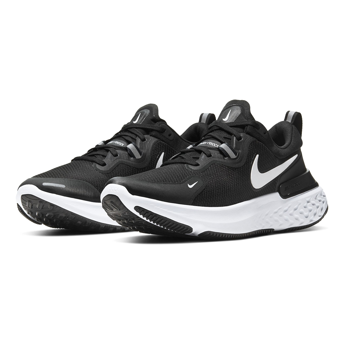 Men's Nike React Miler Running Shoe - Color: Black/Dark Grey/Anthracite/White (Regular Width) - Size: 6, Black/Dark Grey/Anthracite/White, large, image 4