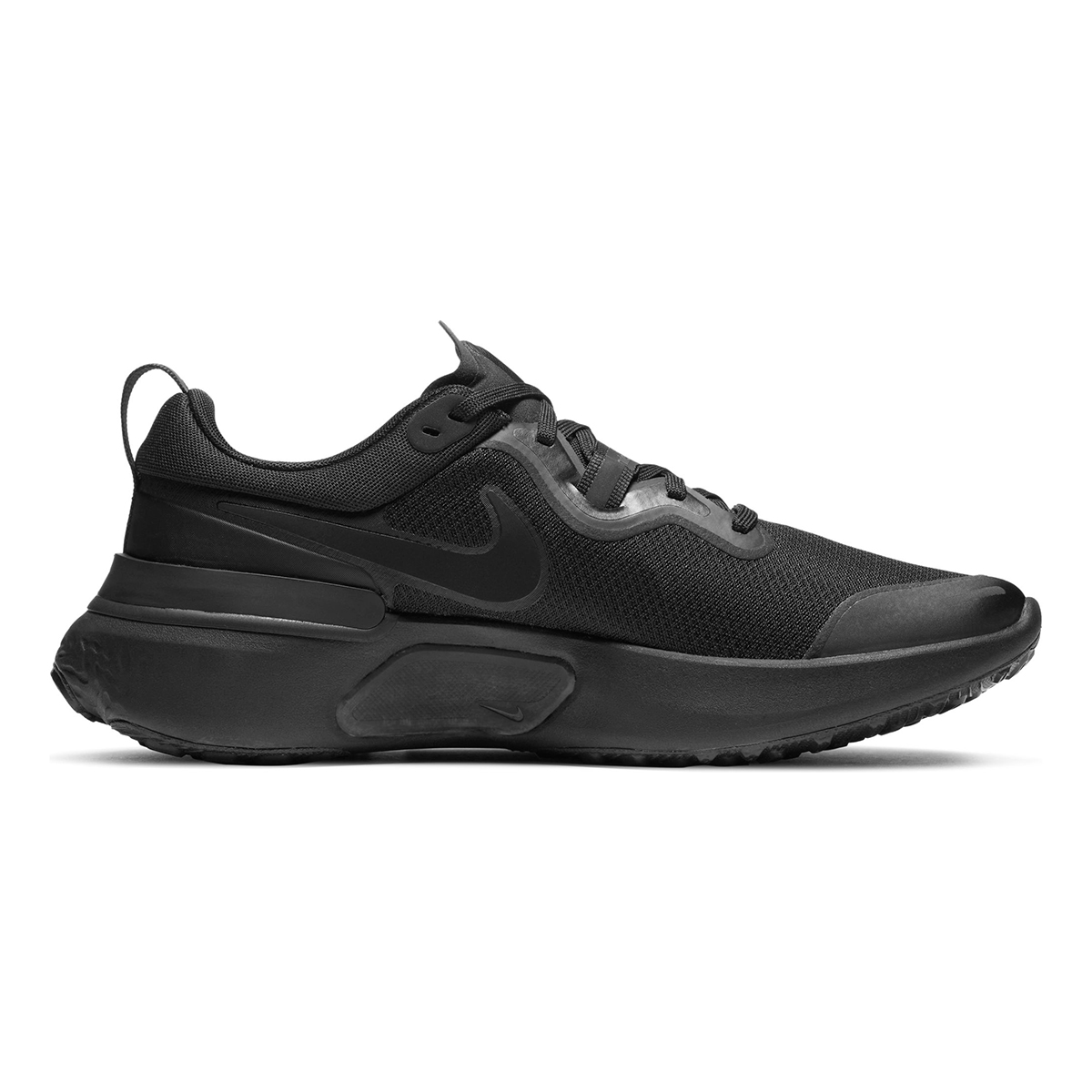 Men's Nike React Miler Running Shoe - Color: Black/Iron Grey/White/Black - Size: 6 - Width: Regular, Black/Iron Grey/White/Black, large, image 2