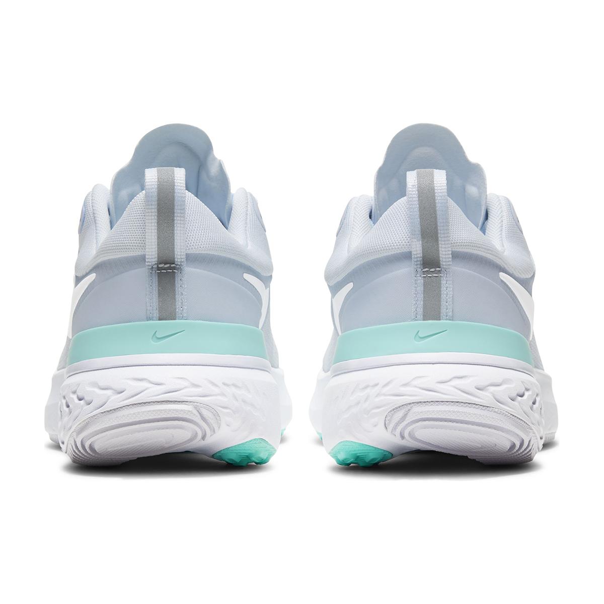 Women's Nike React Miler Running Shoe - Color: Football Grey/Aurora Green/White (Regular Width) - Size: 5.5, Football Grey/Aurora Green/White, large, image 3