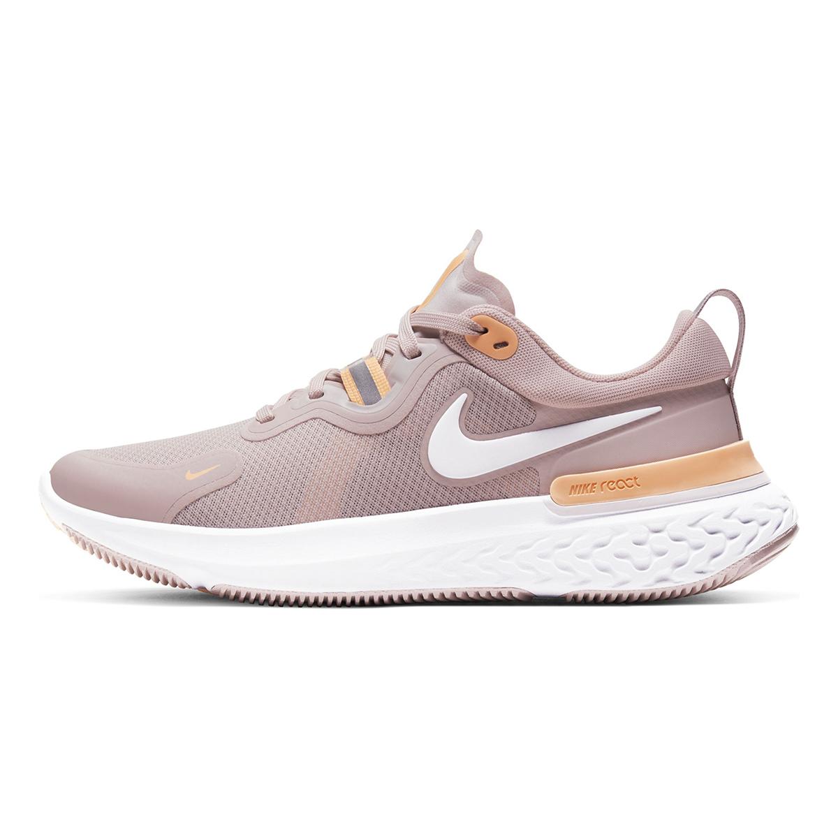 Women's Nike React Miler Running Shoe - Color: Champagne/Orange Pulse/Barely Rose/White (Regular Width) - Size: 5, Champagne/Orange Pulse/Barely Rose/White, large, image 2