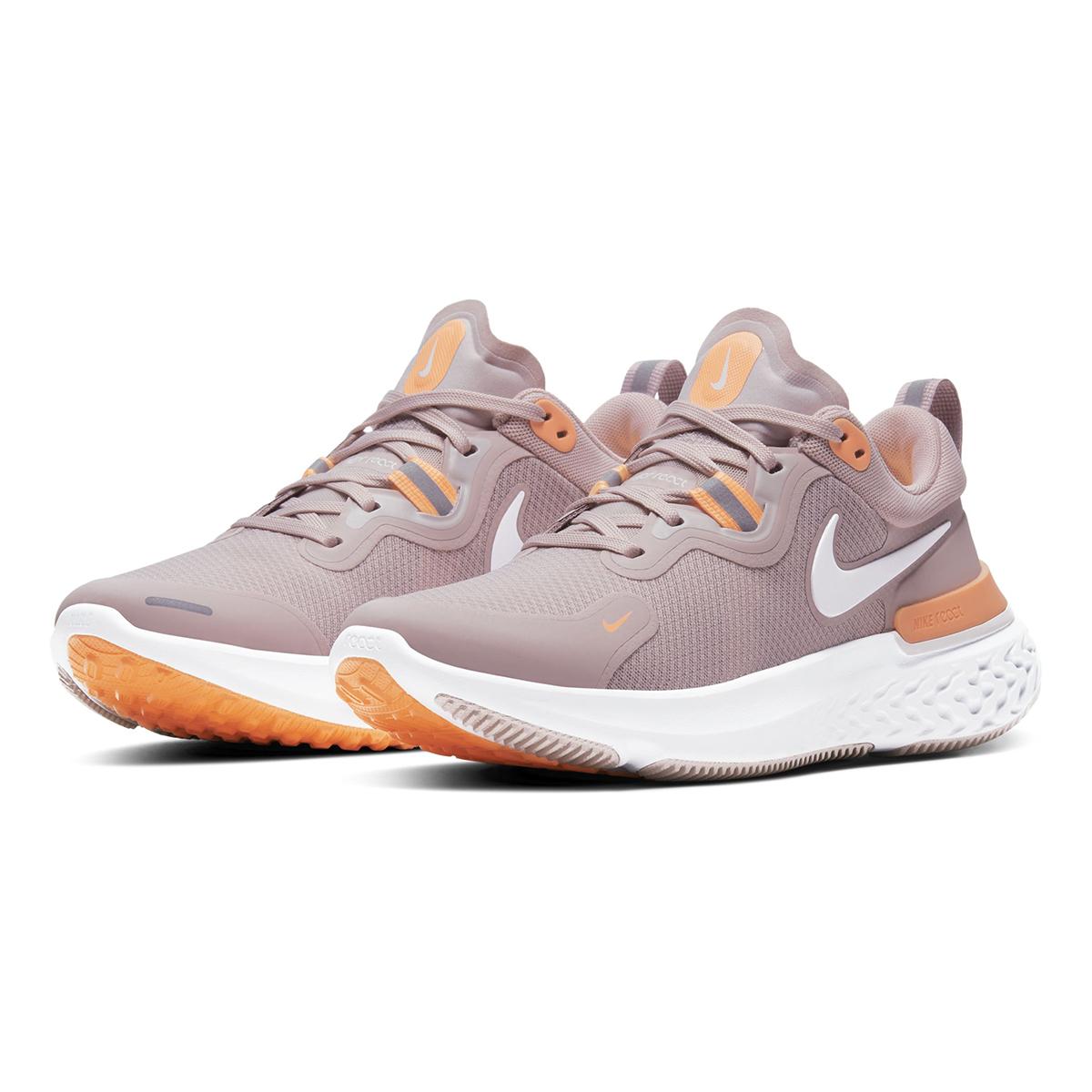 Women's Nike React Miler Running Shoe - Color: Champagne/Orange Pulse/Barely Rose/White (Regular Width) - Size: 5, Champagne/Orange Pulse/Barely Rose/White, large, image 4