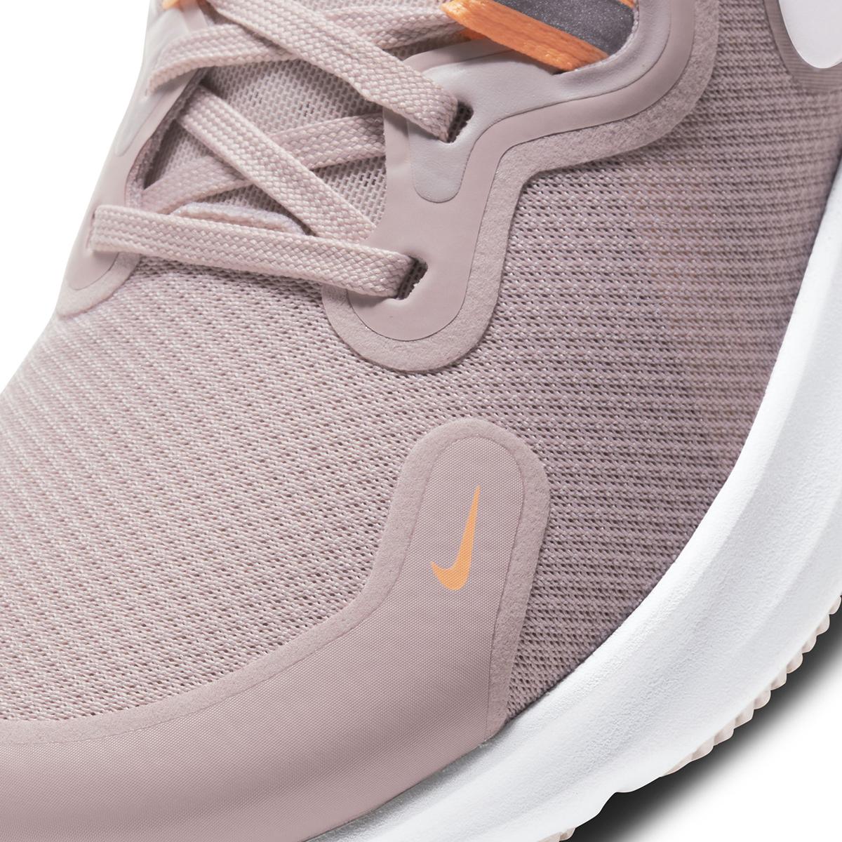 Women's Nike React Miler Running Shoe - Color: Champagne/Orange Pulse/Barely Rose/White (Regular Width) - Size: 5, Champagne/Orange Pulse/Barely Rose/White, large, image 7