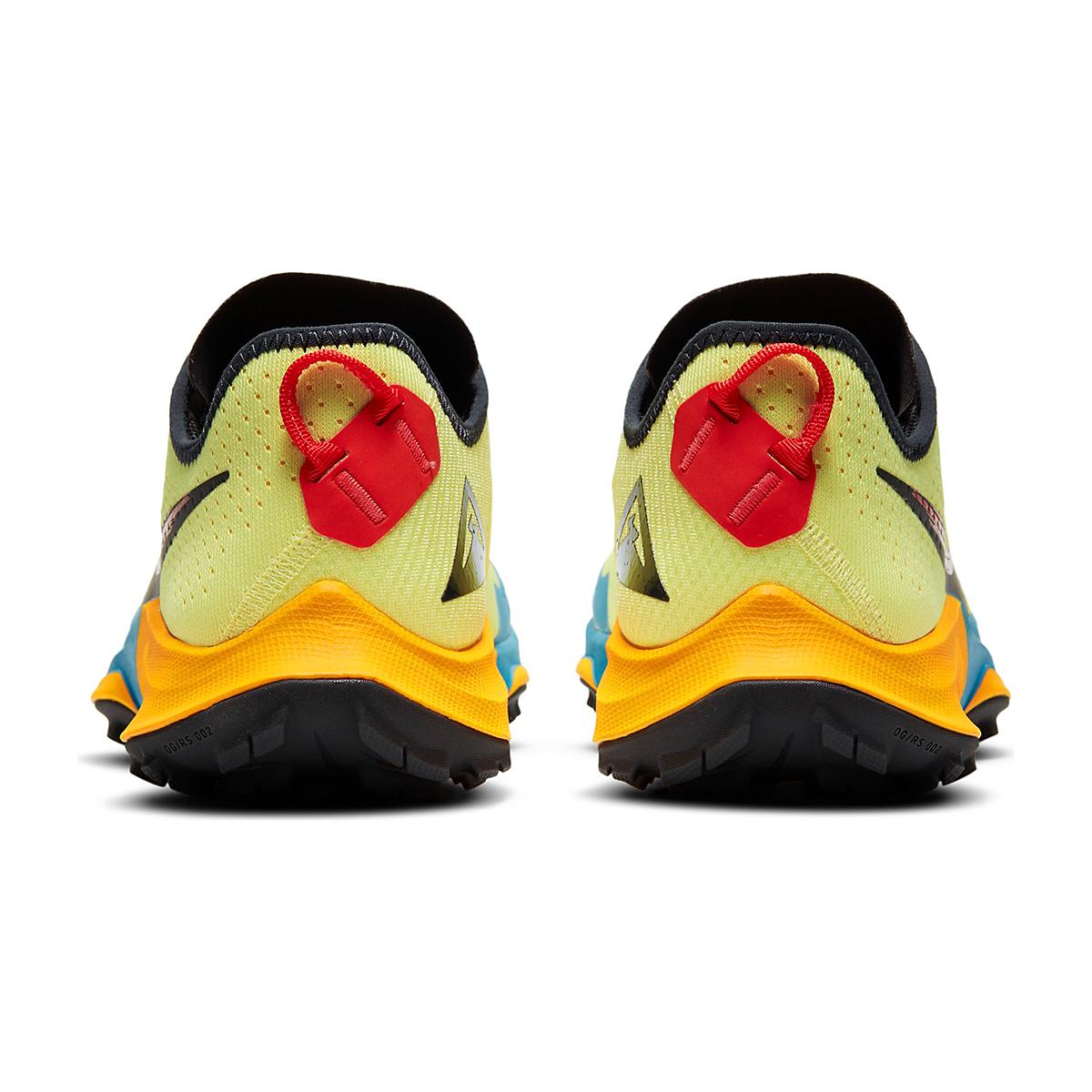 Men's Nike Air Zoom Terra Kiger 7 Trail Running Shoe - Color: Limelight/Off Noir/Laser Blue - Size: 6.5 - Width: Regular, Limelight/Off Noir/Laser Blue, large, image 5