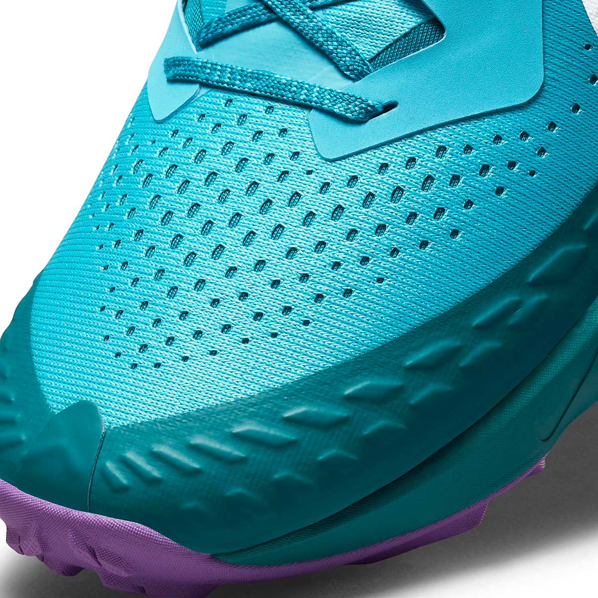 Men's Nike Air Zoom Terra Kiger 7 Trail Running Shoe - Color: Turquoise Blue/White/Mystic Teal - Size: 6 - Width: Regular, Turquoise Blue/White/Mystic Teal, large, image 6