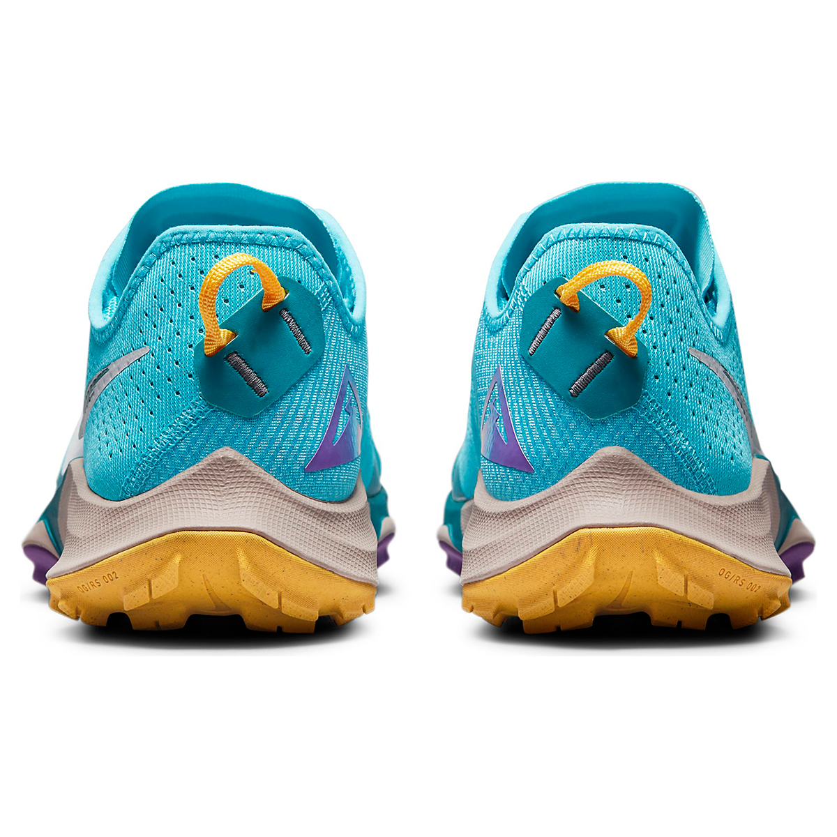 Men's Nike Air Zoom Terra Kiger 7 Trail Running Shoe - Color: Turquoise Blue/White/Mystic Teal - Size: 6 - Width: Regular, Turquoise Blue/White/Mystic Teal, large, image 7