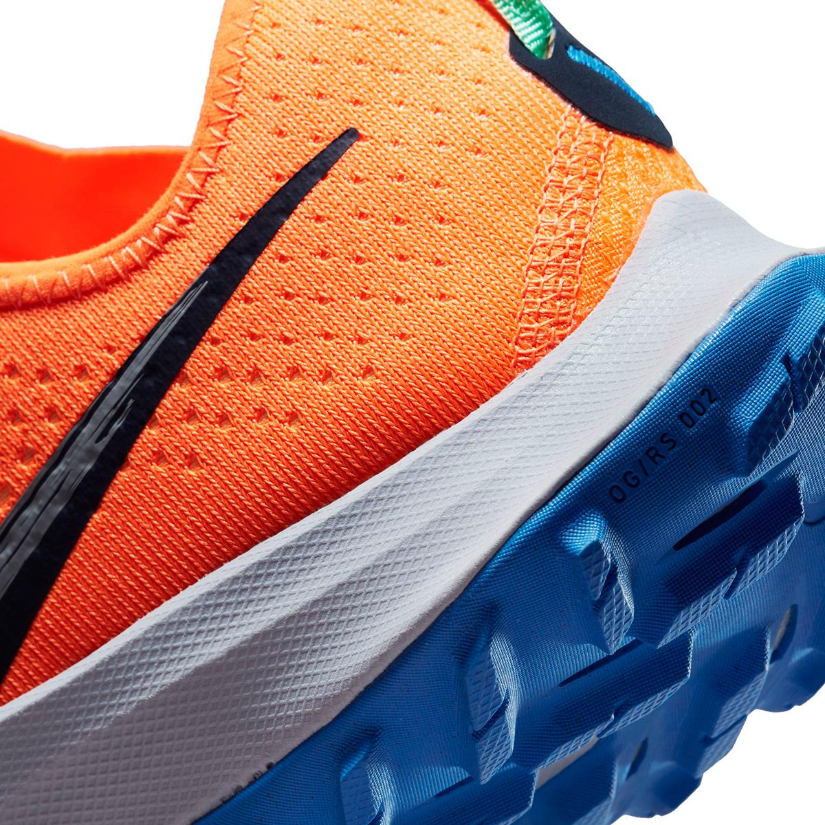 Men's Nike Air Zoom Terra Kiger 7 Trail Running Shoe - Color: Total Orange/Obsidian/Signal Blue - Size: 6 - Width: Regular, Total Orange/Obsidian/Signal Blue, large, image 5