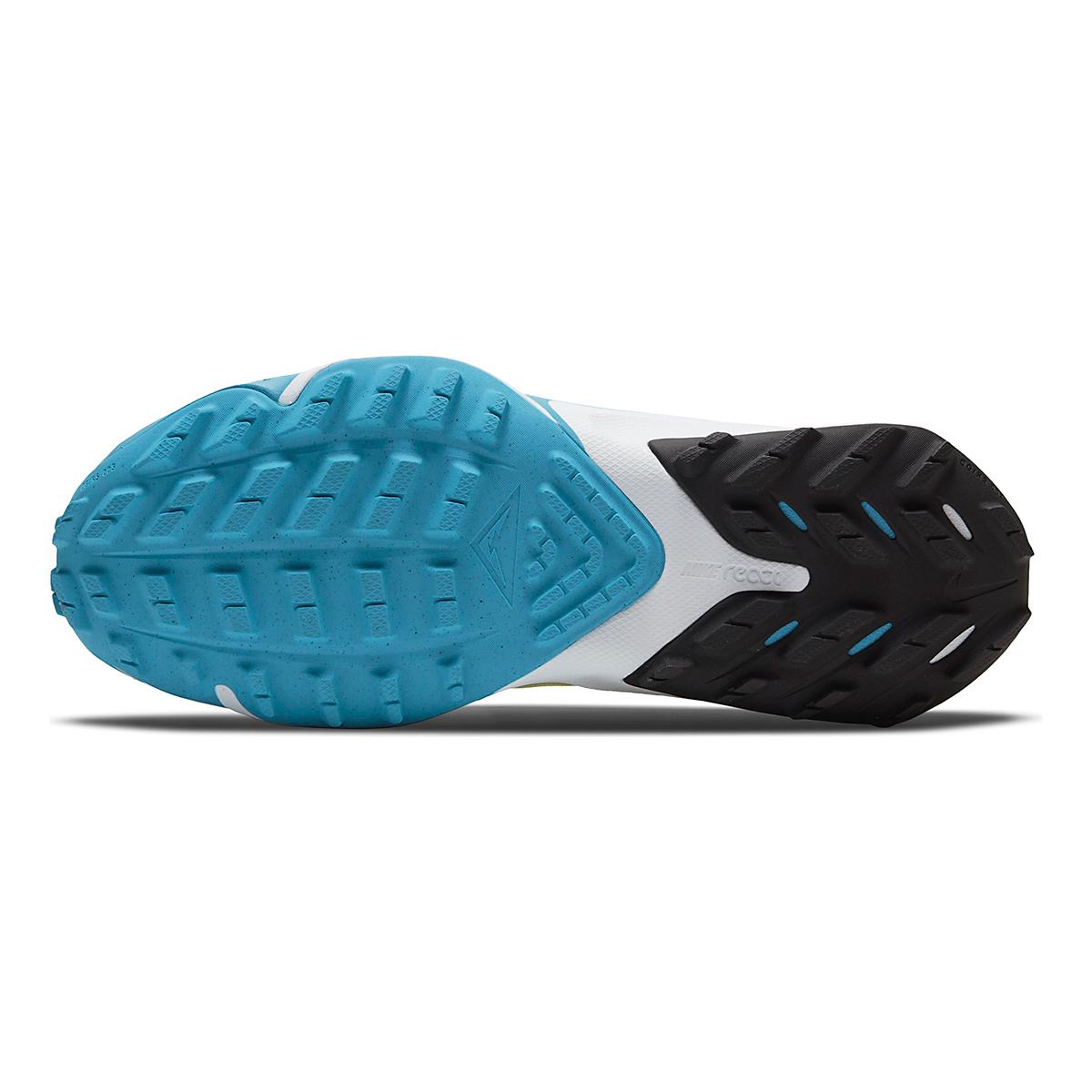 Women's Nike Air Zoom Terra Kiger 7 Trail Running Shoe - Color: Limelight/Off Noir/Laser Blue - Size: 5 - Width: Regular, Limelight/Off Noir/Laser Blue, large, image 6