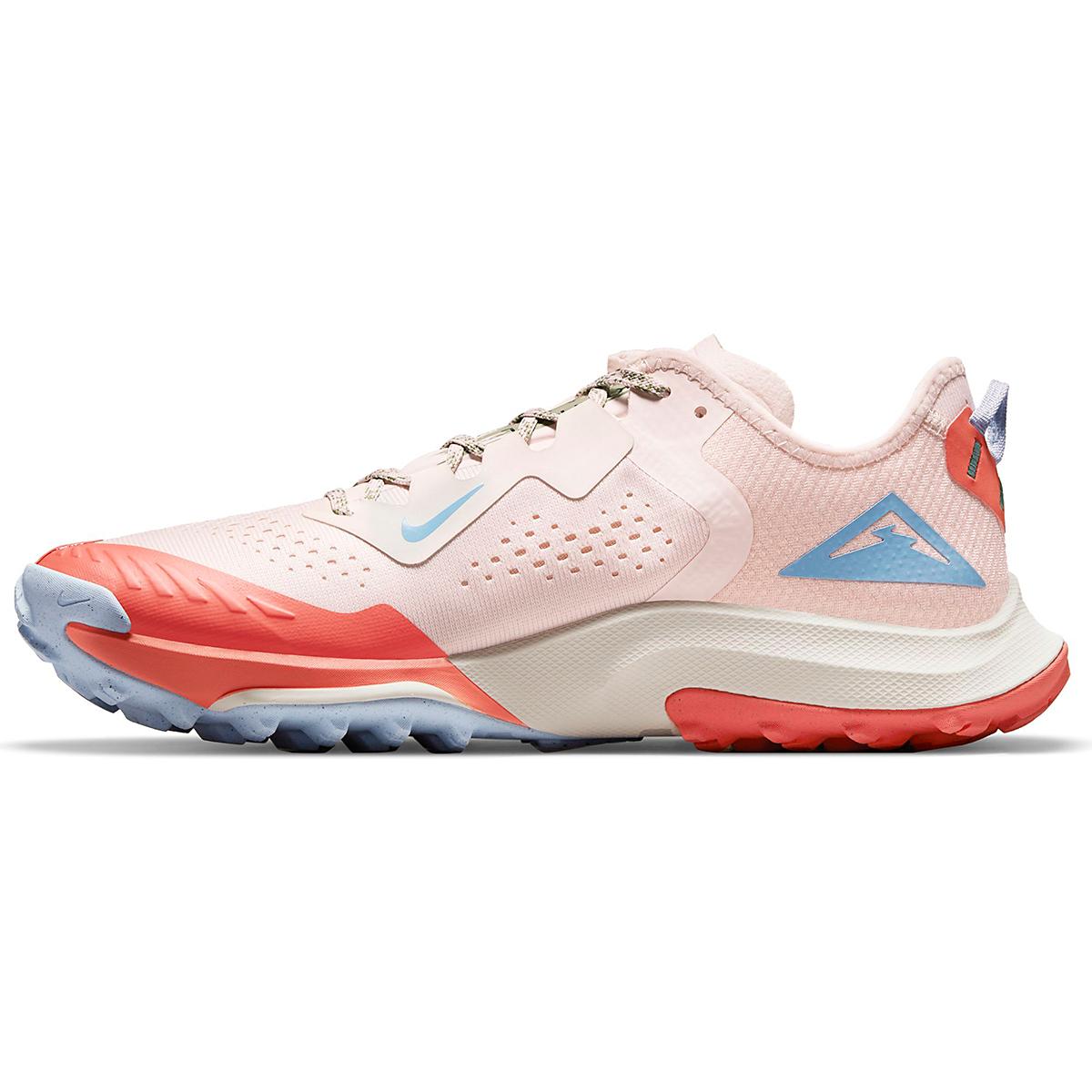 Women's Nike Air Zoom Terra Kiger 7 Trail Running Shoe - Color: Light Soft Pink/Bicoastal/Magic Ember - Size: 5 - Width: Regular, Light Soft Pink/Bicoastal/Magic Ember, large, image 2