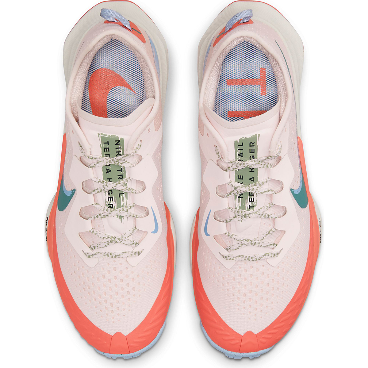 Women's Nike Air Zoom Terra Kiger 7 Trail Running Shoe - Color: Light Soft Pink/Bicoastal/Magic Ember - Size: 5 - Width: Regular, Light Soft Pink/Bicoastal/Magic Ember, large, image 3