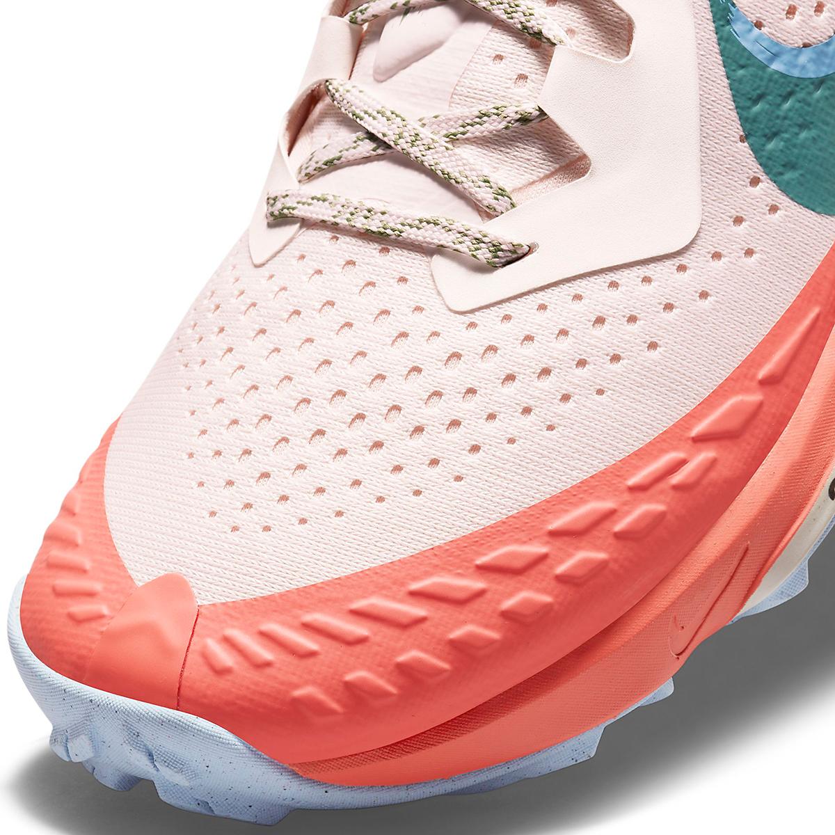 Women's Nike Air Zoom Terra Kiger 7 Trail Running Shoe - Color: Light Soft Pink/Bicoastal/Magic Ember - Size: 5 - Width: Regular, Light Soft Pink/Bicoastal/Magic Ember, large, image 6